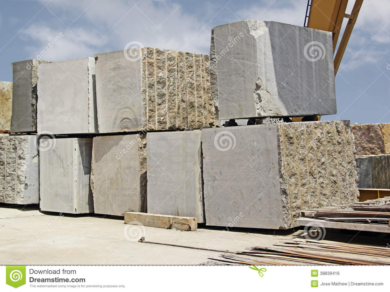 Granite Building Blocks : Huge indian granite blocks stock photo image of extract