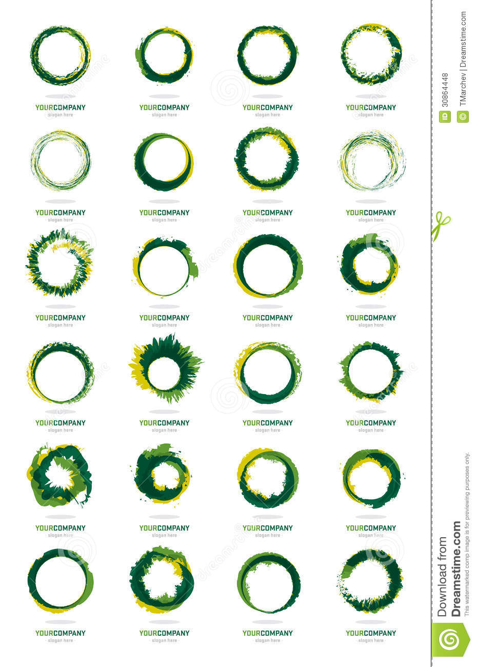 Best Colors For Design : Huge logo designs collection royalty free stock photos