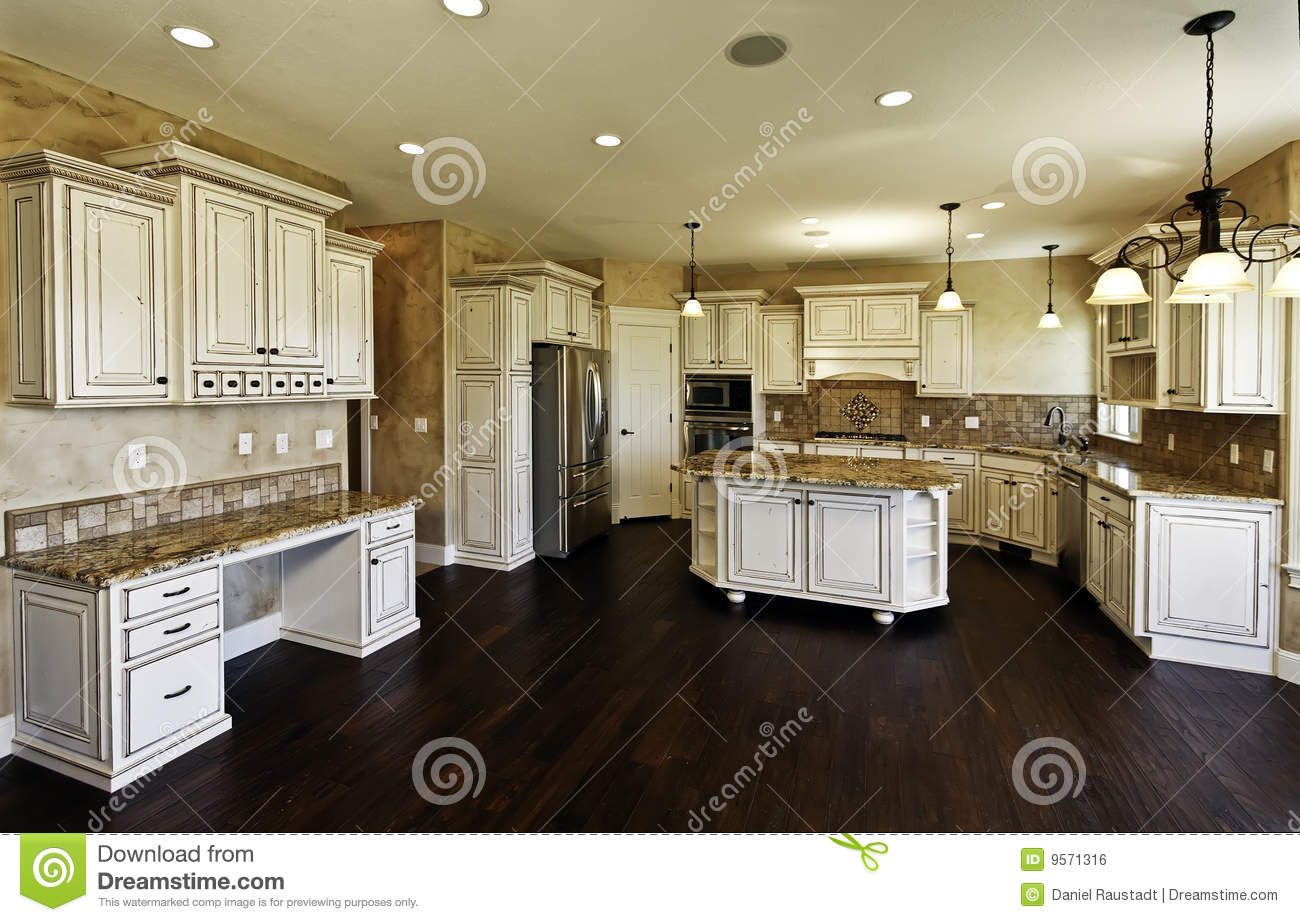 Huge new kitchen and dining room stock photo image 9571316 for Kitchen n dining room