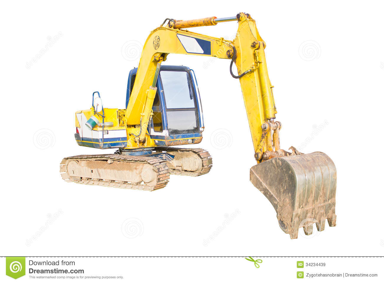 A huge shovel digging on ground royalty free stock images for Digging ground dream meaning
