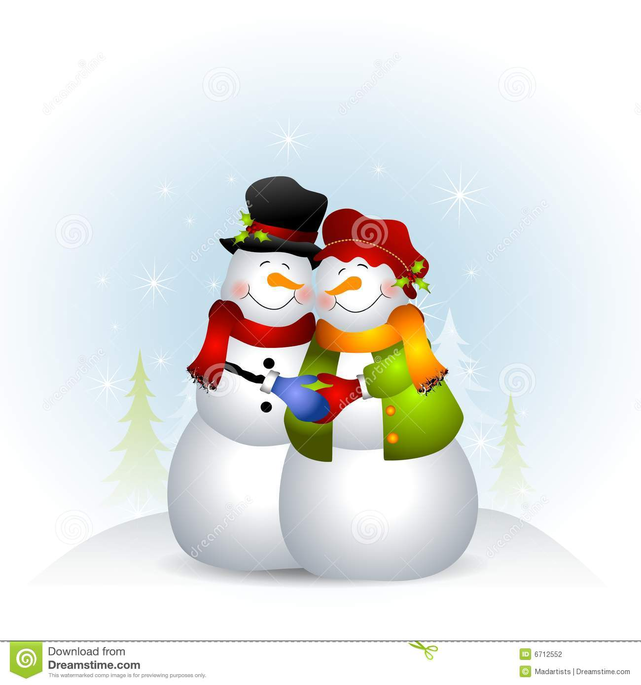 snow woman clipart - photo #34