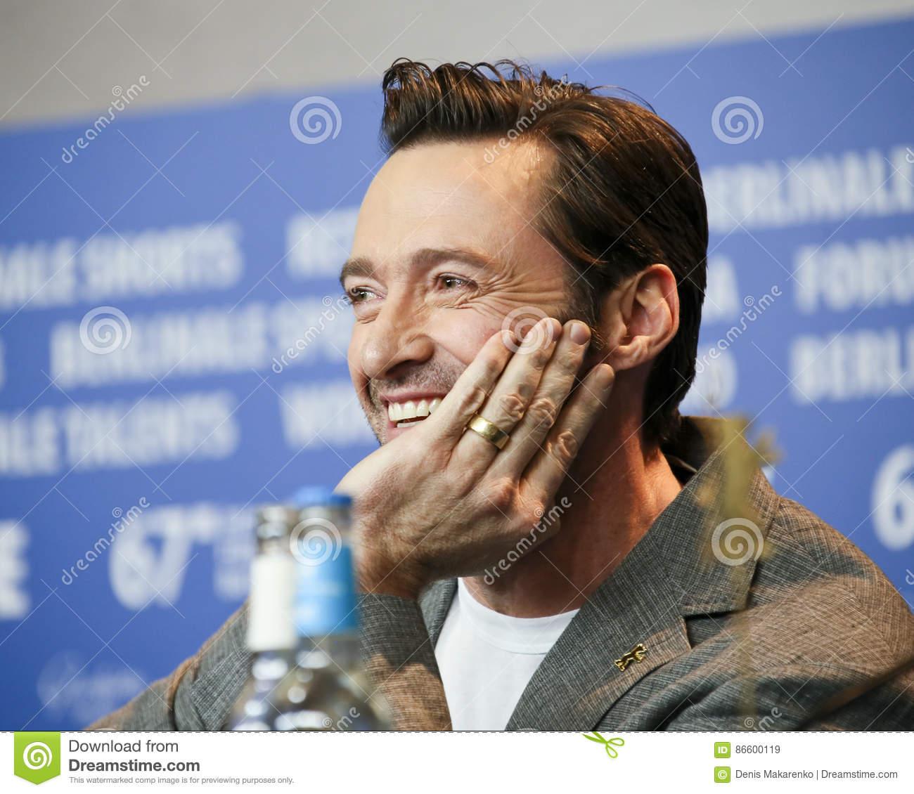 Hugh Jackman Attends The `Logan` Editorial Stock Image ...