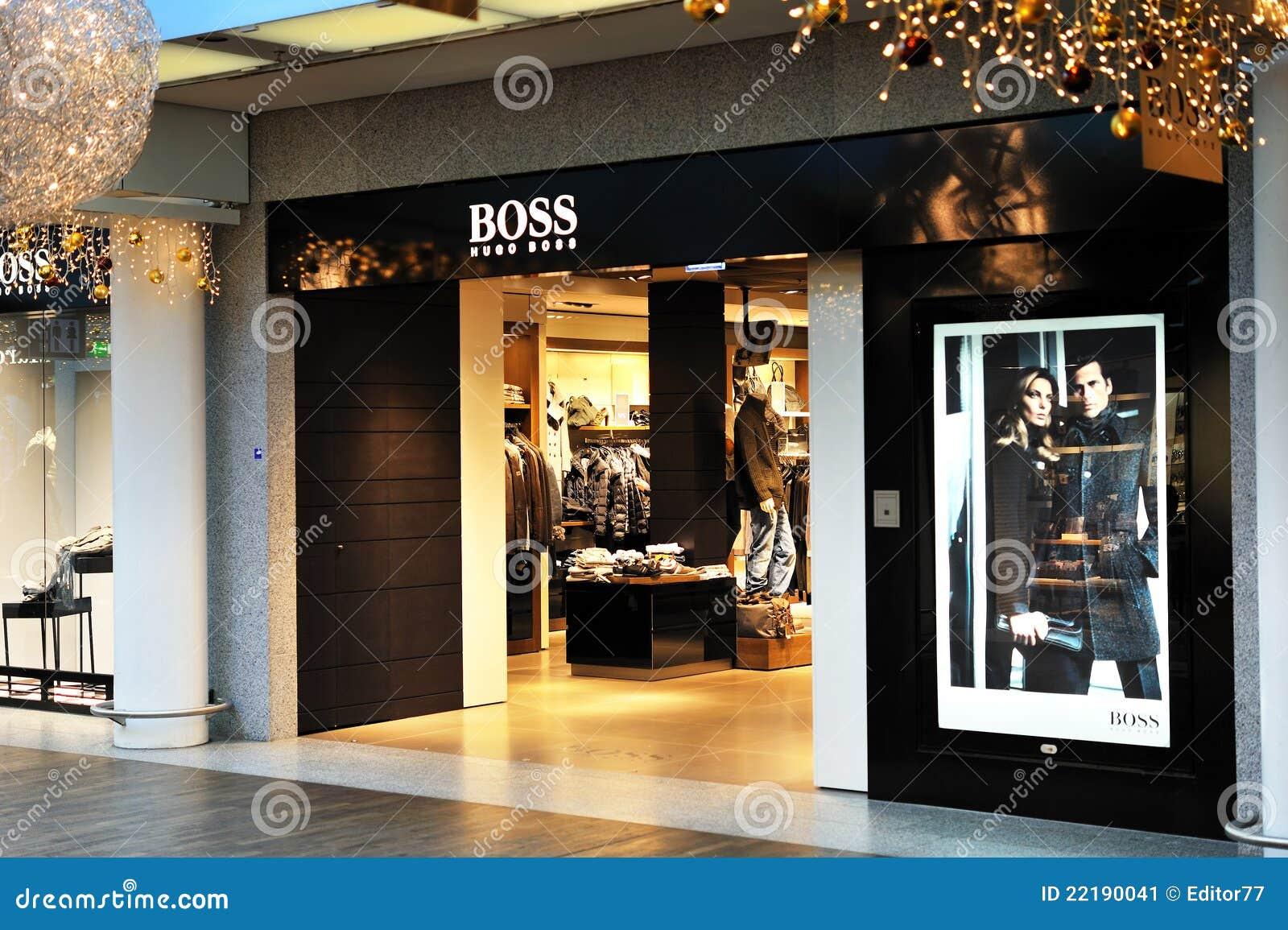 hugo boss fashion store editorial photo image of display. Black Bedroom Furniture Sets. Home Design Ideas