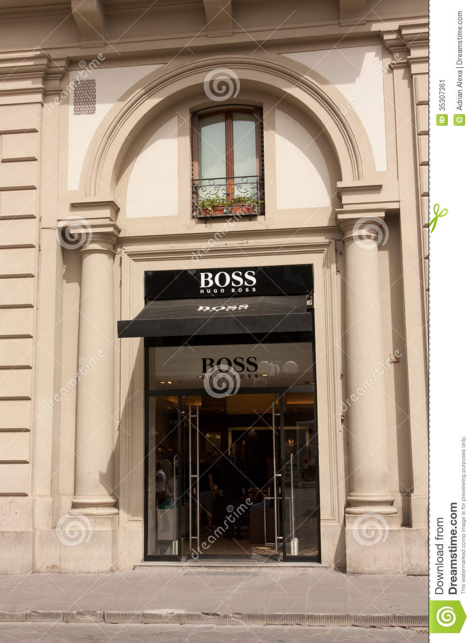 Hugo Boss Store Editorial Photo Image 35307361