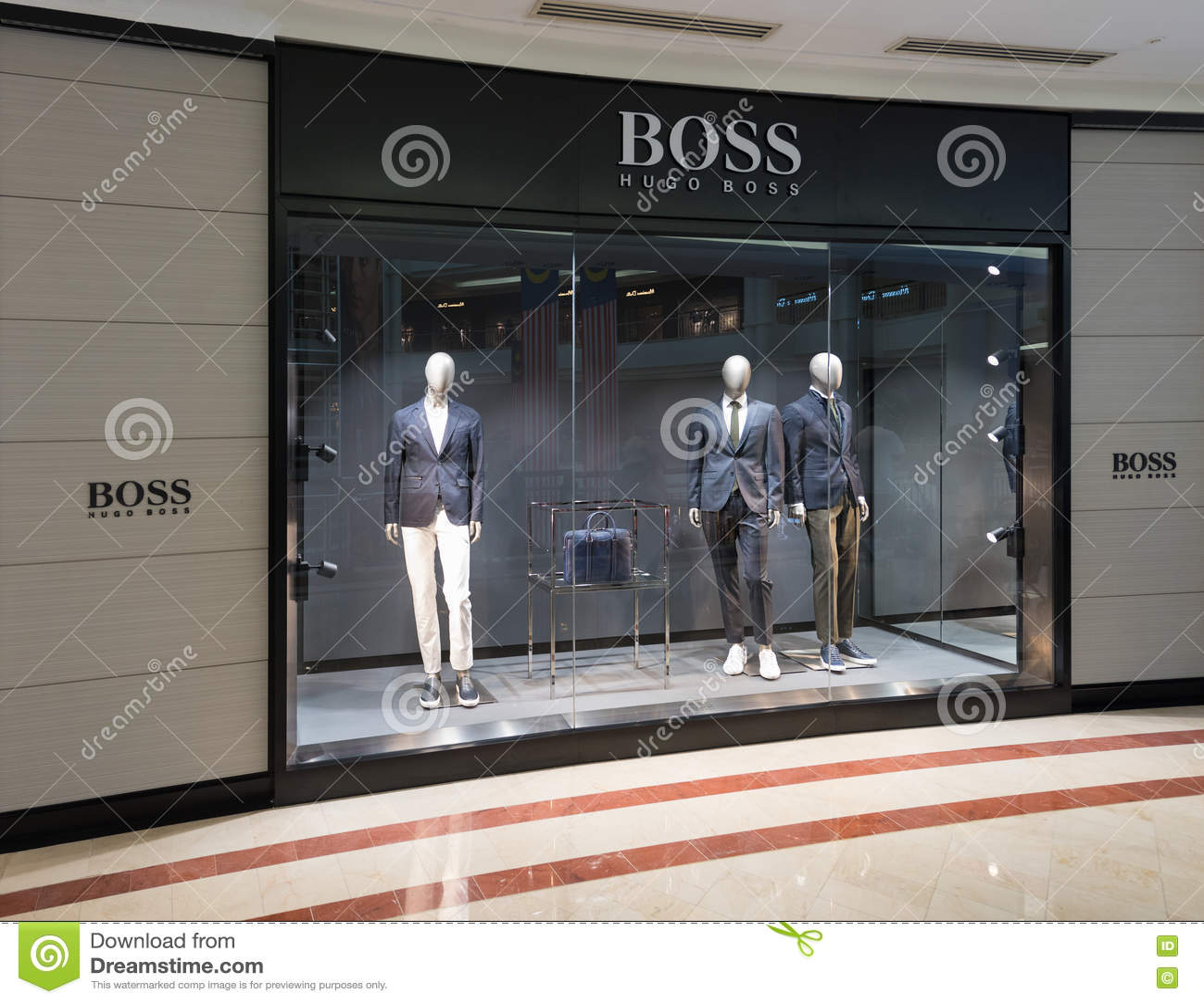 hugo boss pavilion