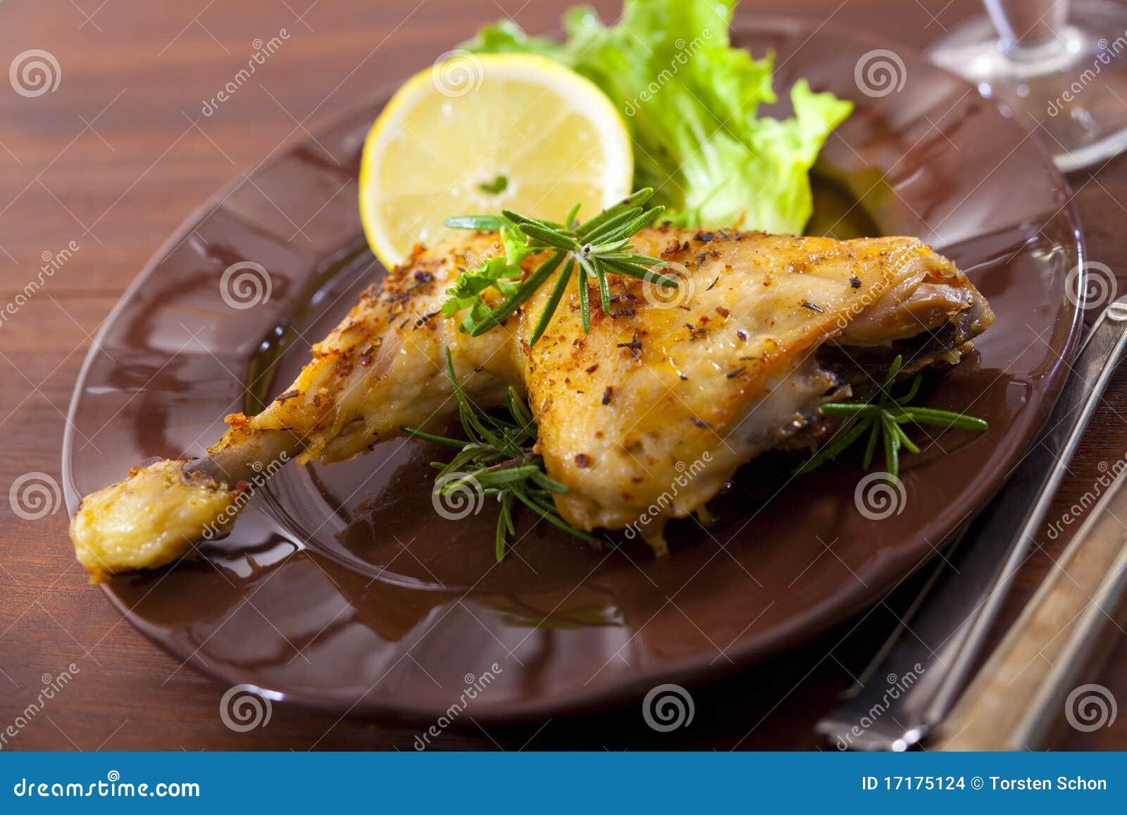 Huhnschenkel