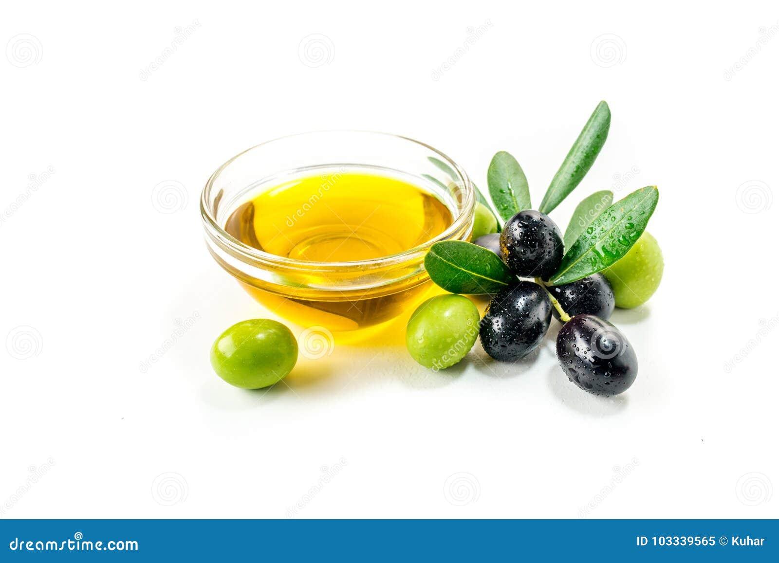 Huile d olive organique avec des olives