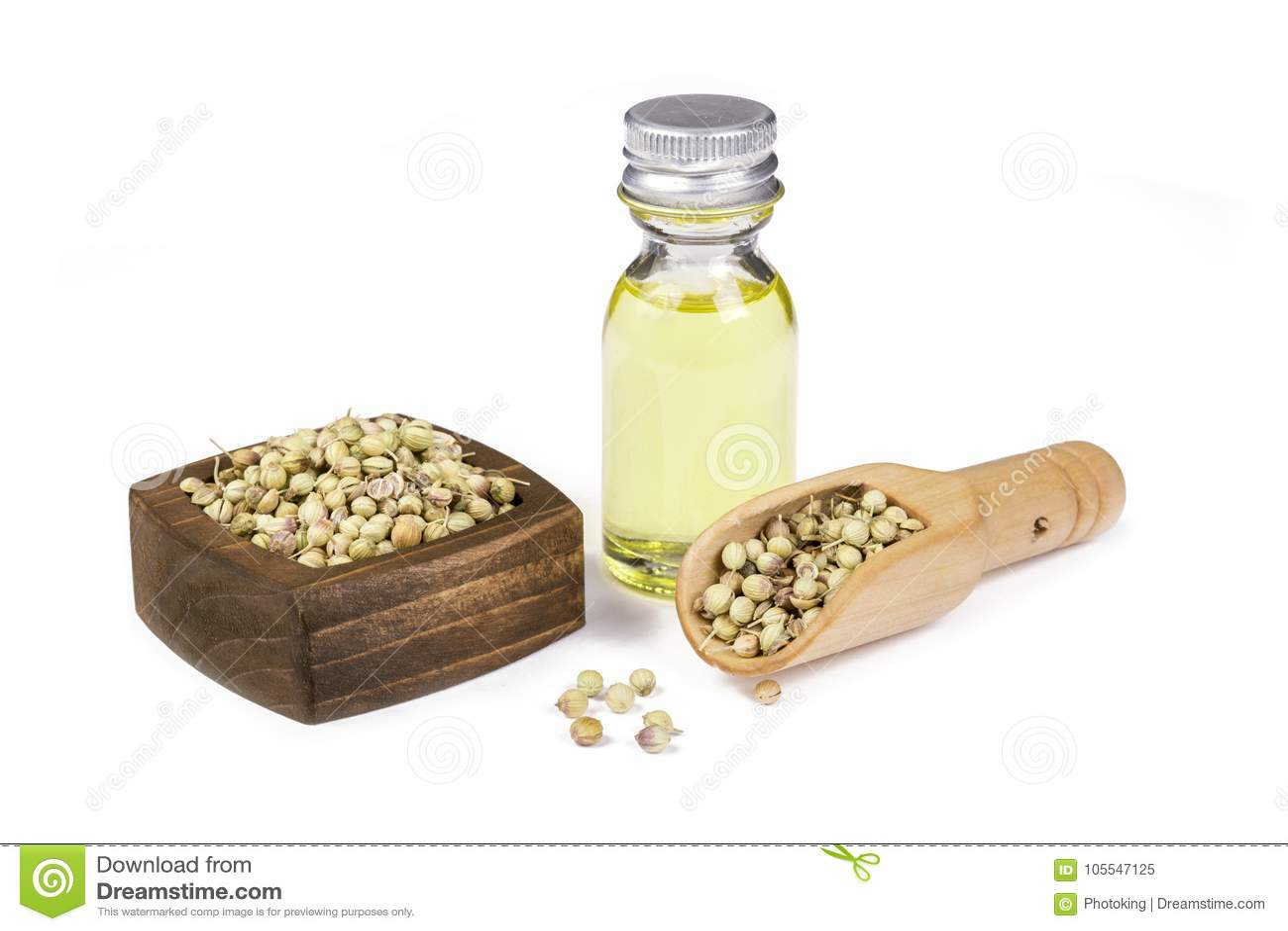 Huile de graines de coriandre