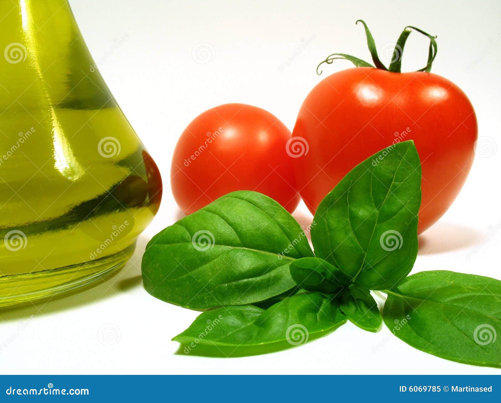 Huile et légumes d olive