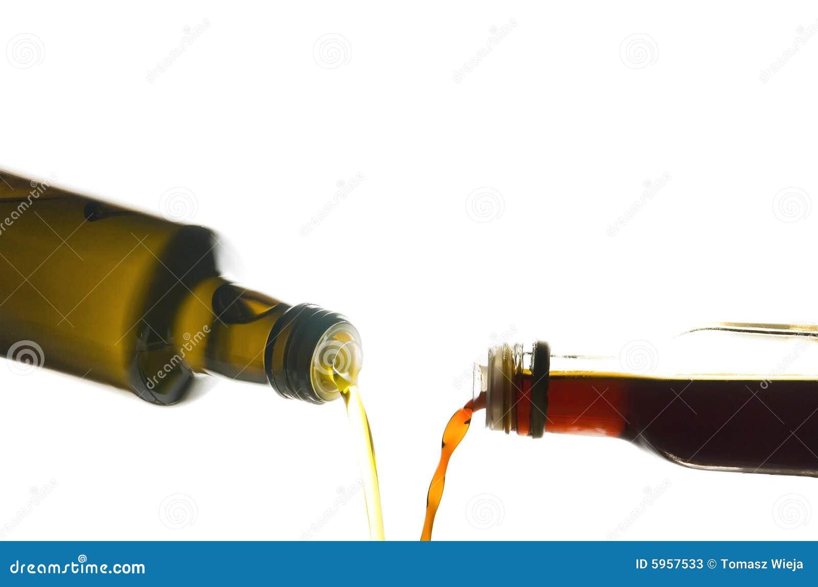 Huile et vinaigre d olive