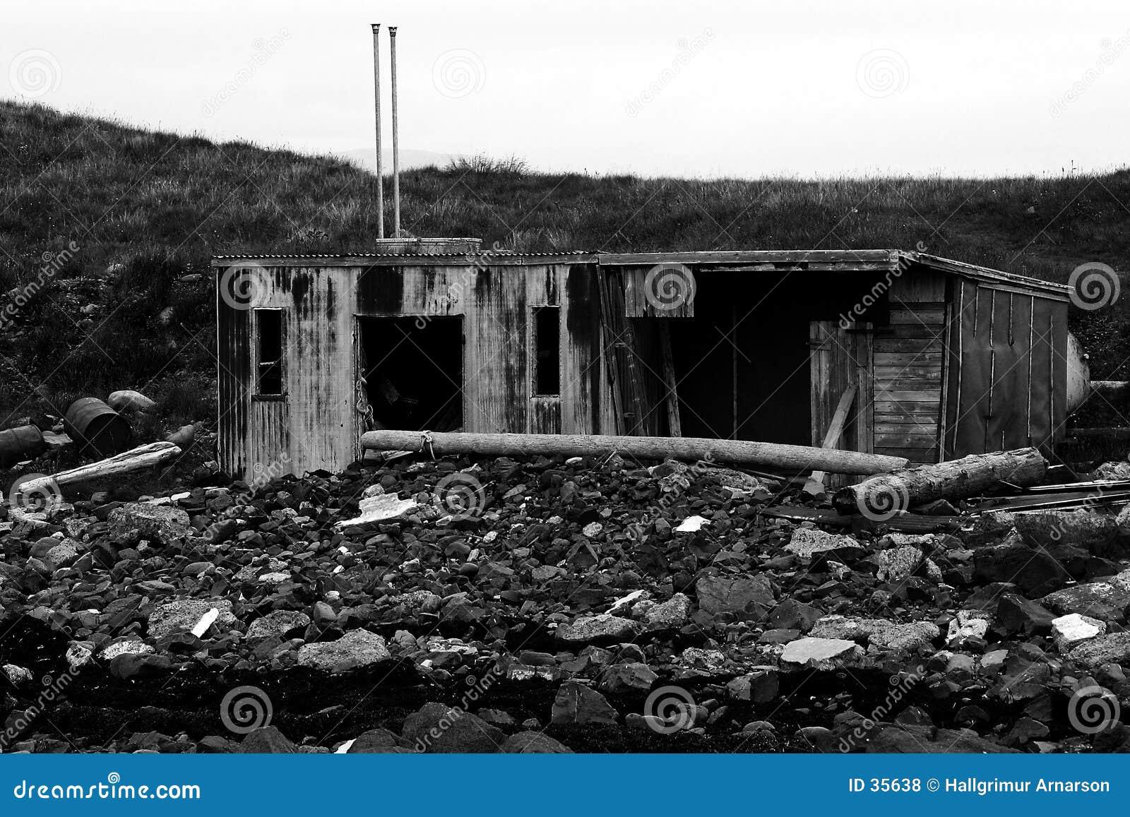 Huis bij het overzees