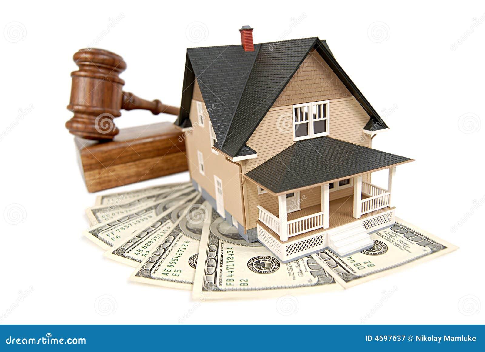 Huis dat wordt verkocht
