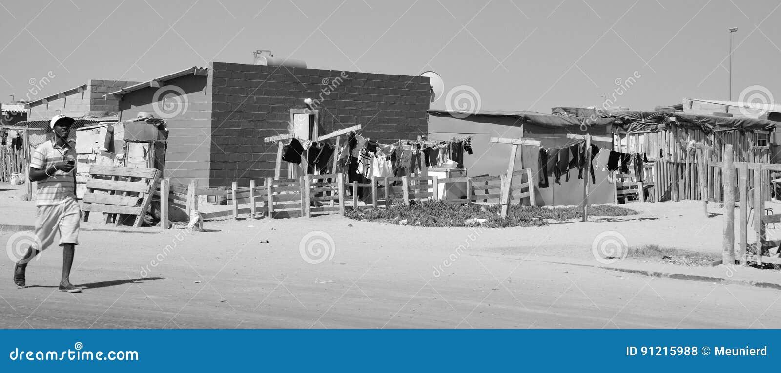 Huis in de Mondesa-krottenwijk