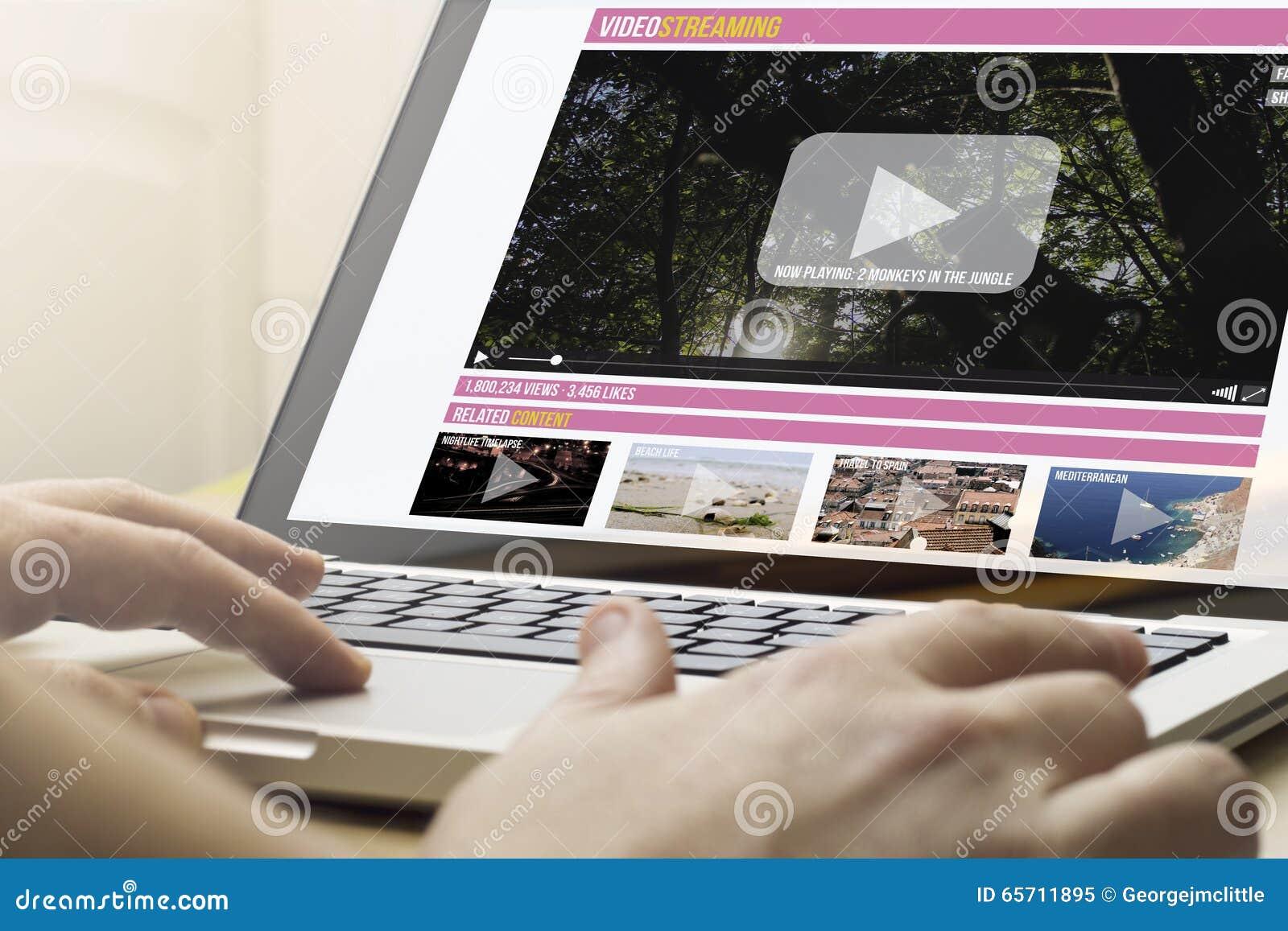 Huis die het video stromen gegevens verwerken