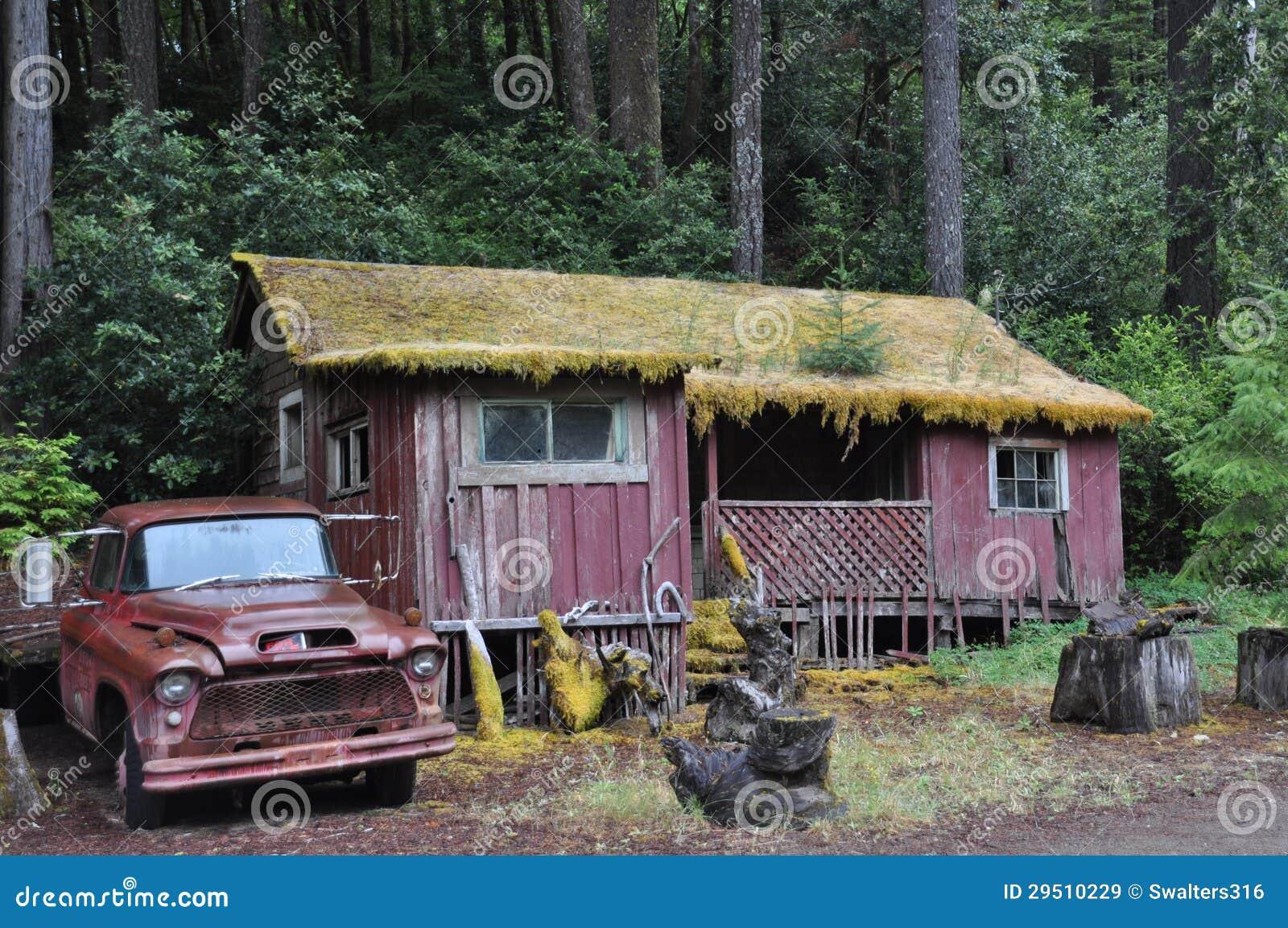 Huis in het hout