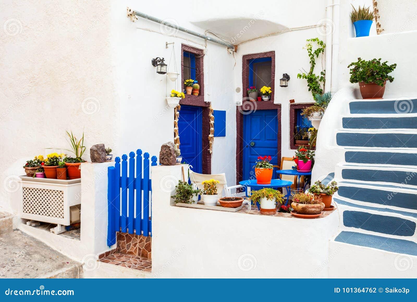 Huis in Oia, Santorini