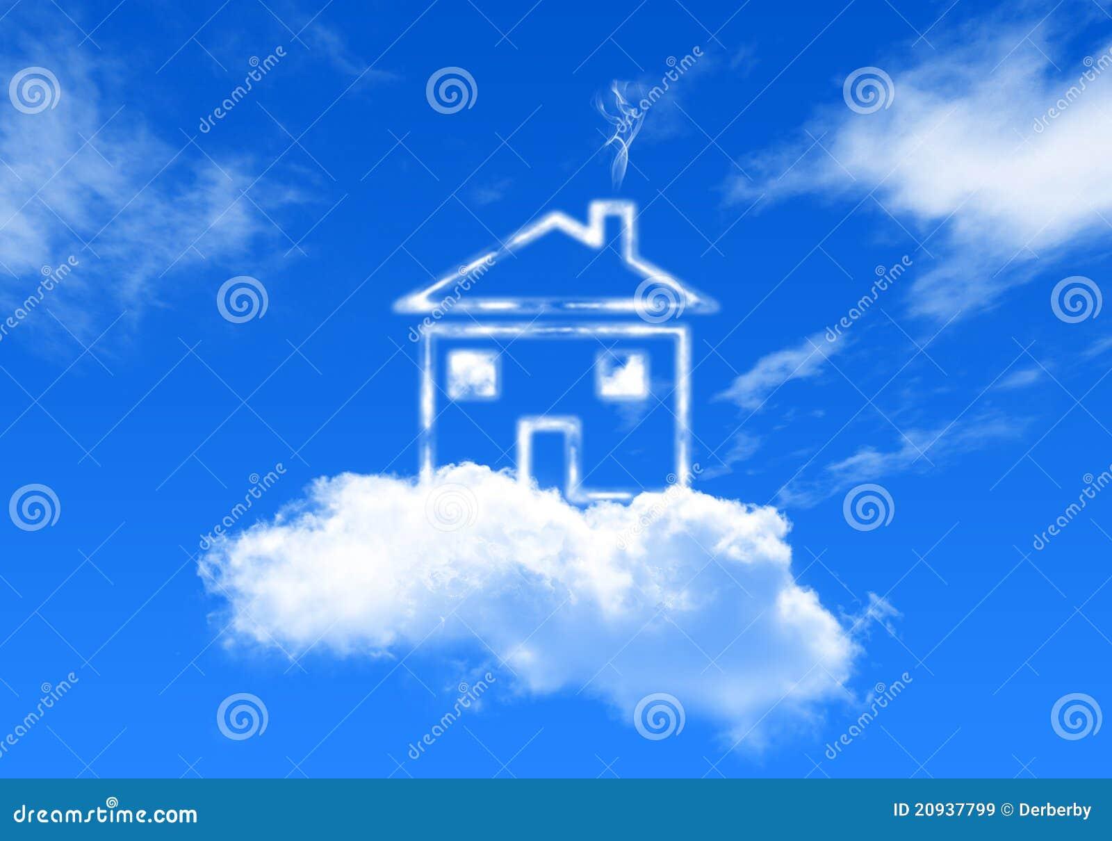Huis op de hemel