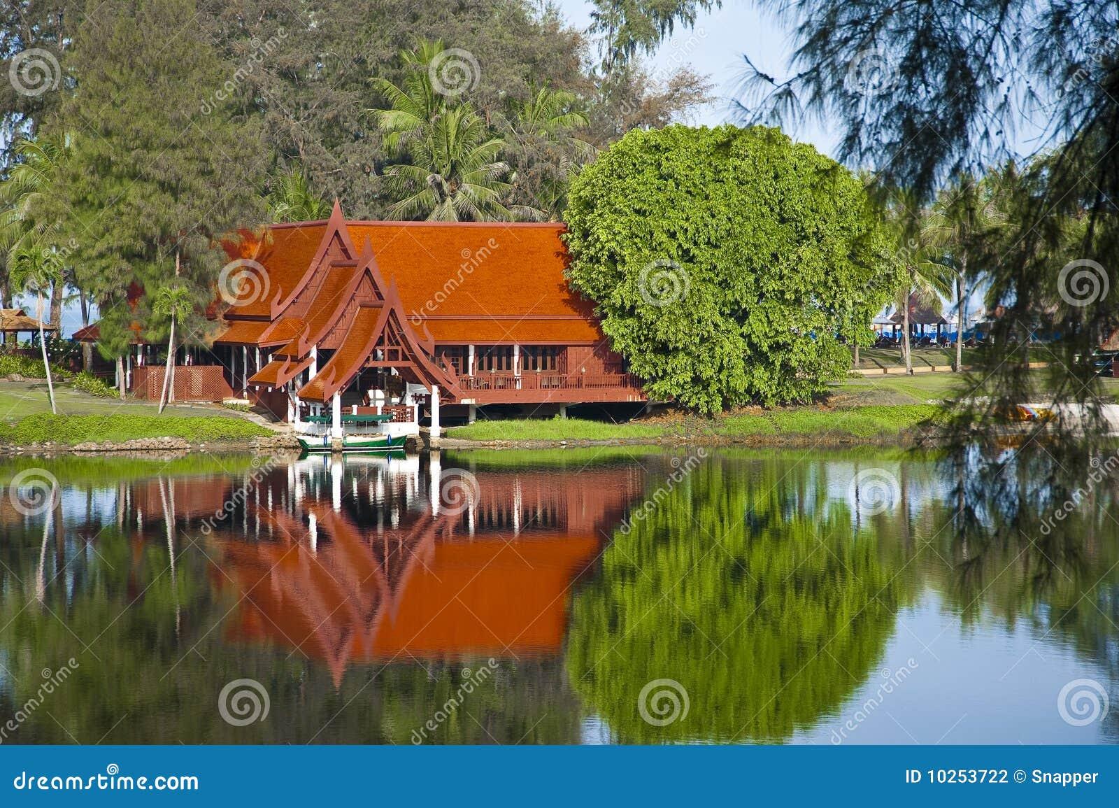 Huis op meer