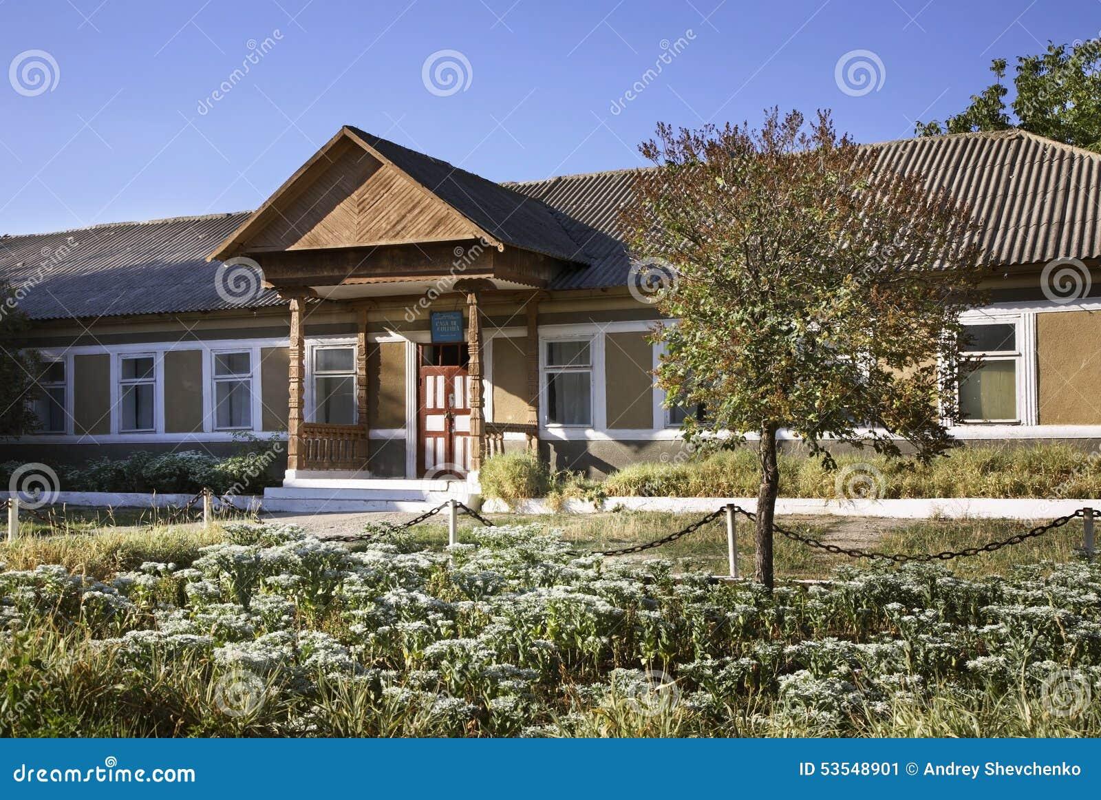 Huis van Cultuur in Trebujeni moldova