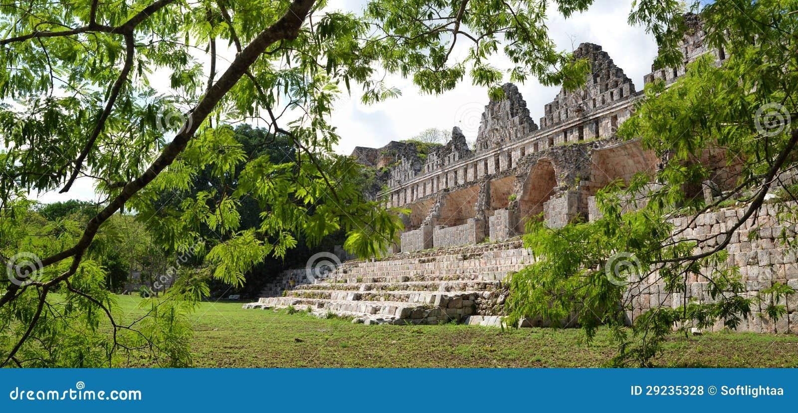 Huis van de duiven in de maya stad van uxmal stock foto afbeelding 29235328 - Huis van de cabriolet ...