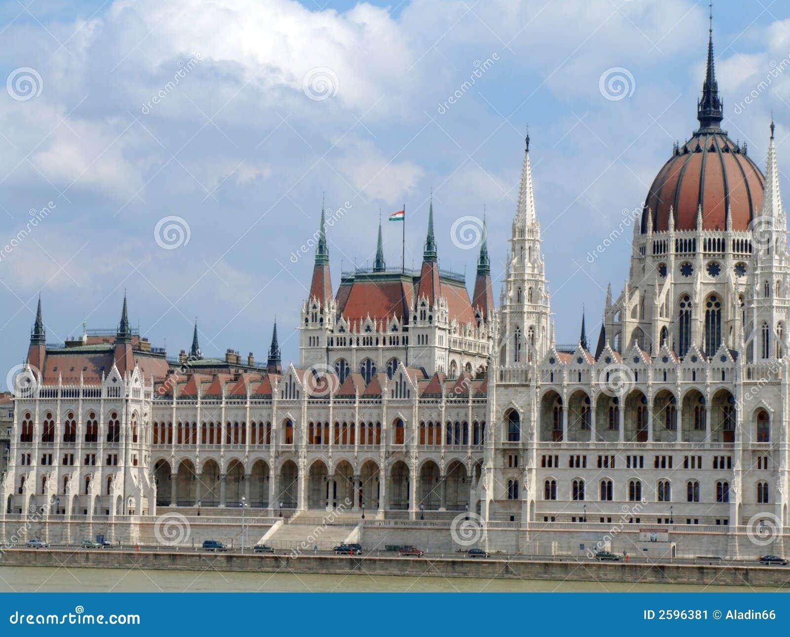 Huis van de natie en Donau