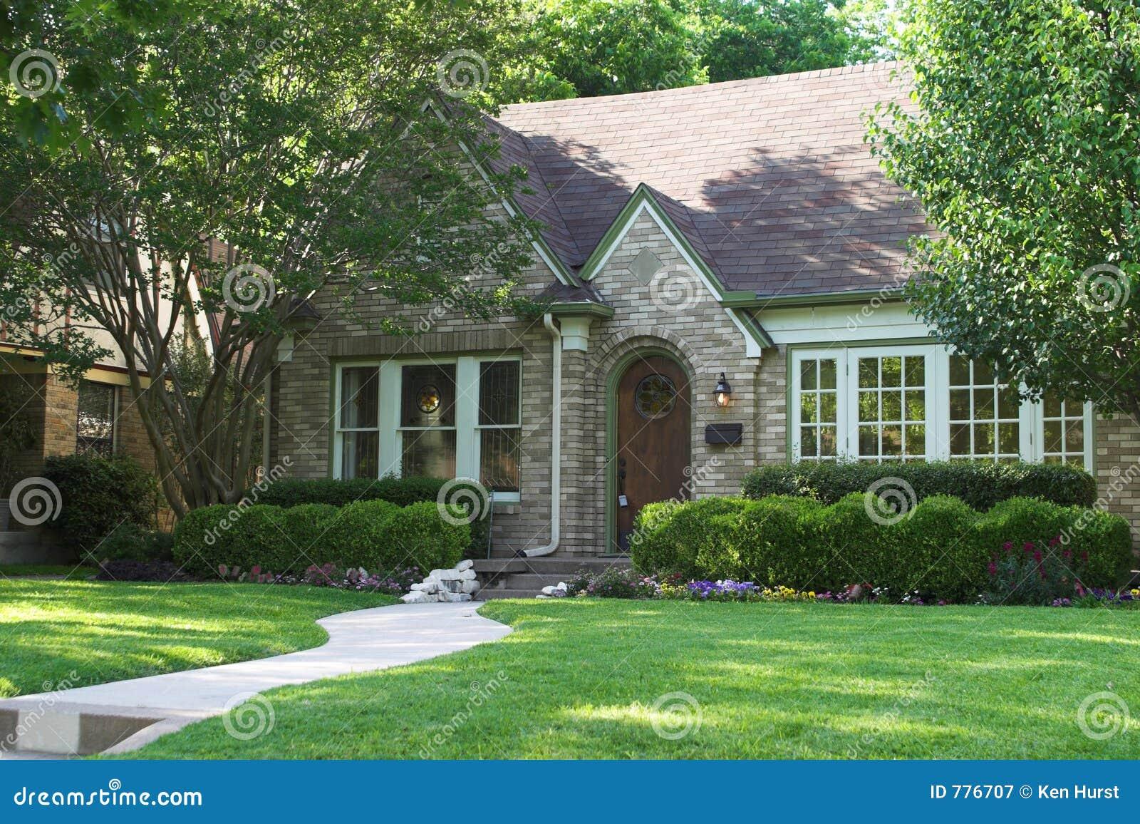 Huis voor verkoop royalty vrije stock fotografie for Huis aantrekkelijk maken voor verkoop