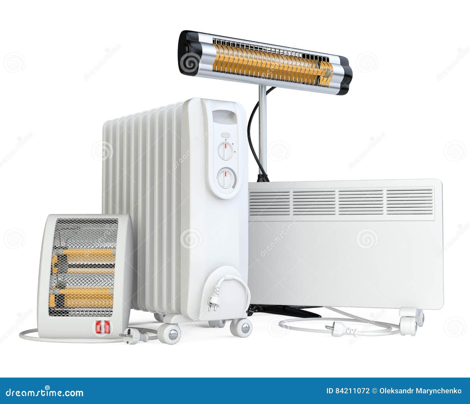 Huismateriaal om te verwarmen, halogeen, infrarood van kwartsverwarmer