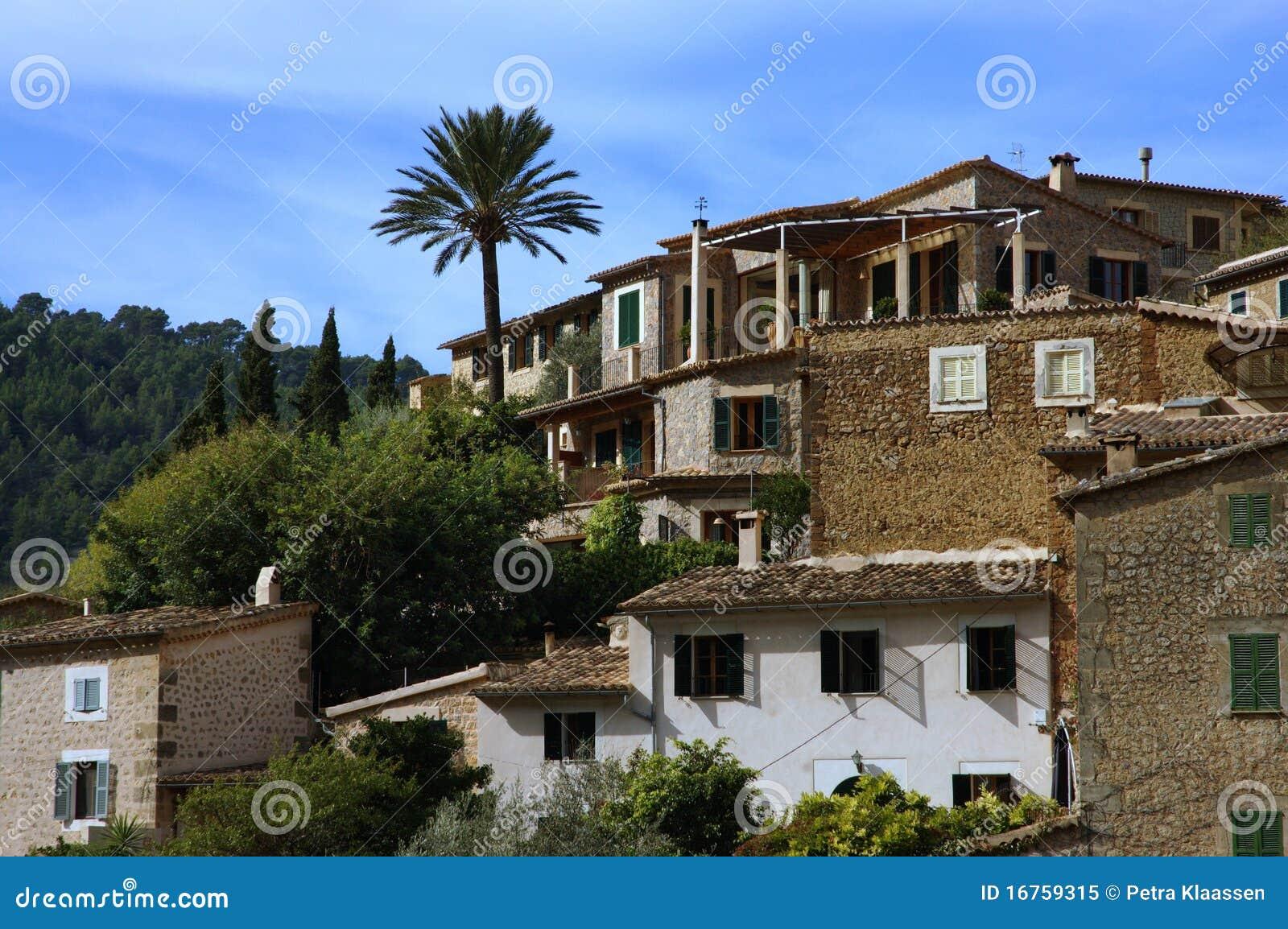 huizen spanje stock afbeelding afbeelding bestaande uit