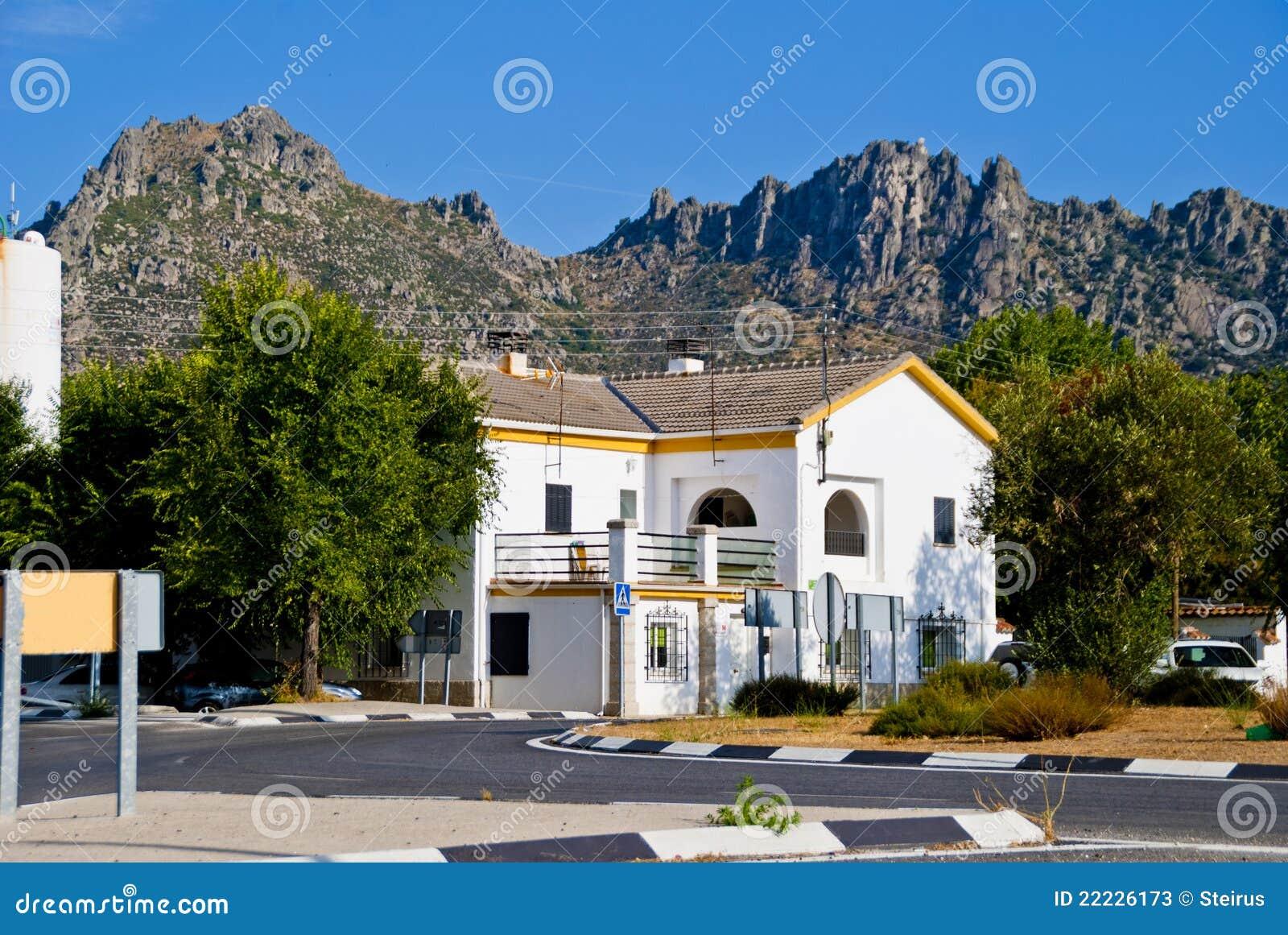 huizen in spanje stock afbeelding afbeelding bestaande