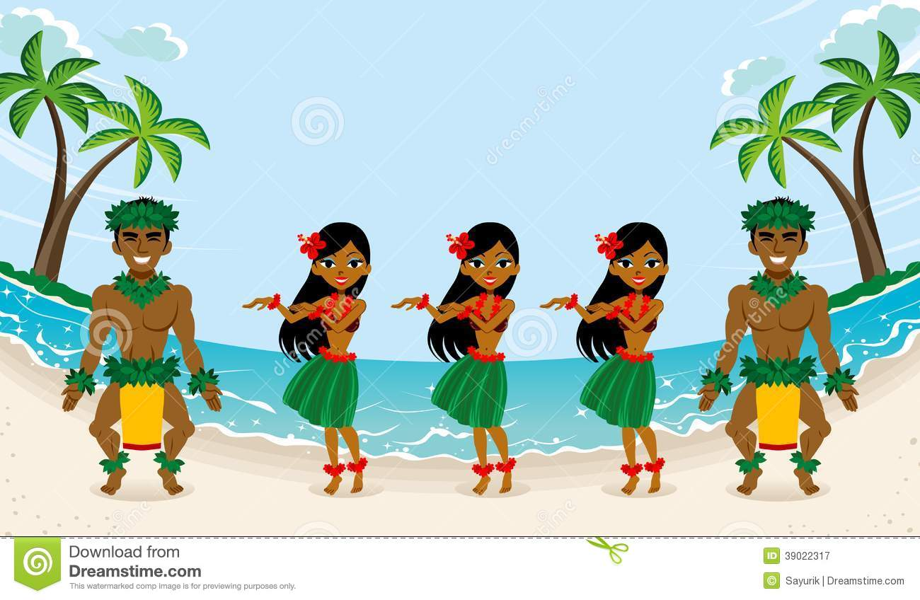 hula dancer stock illustrations 379 hula dancer stock rh dreamstime com Aloha Clip Art hula dancing clipart
