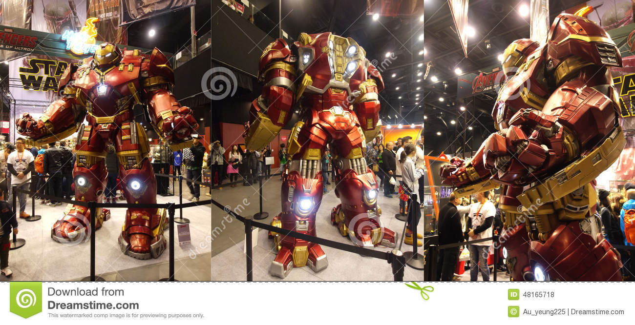 Hulkbuster Iron Man In The Avengers: Age Of Ultron ...