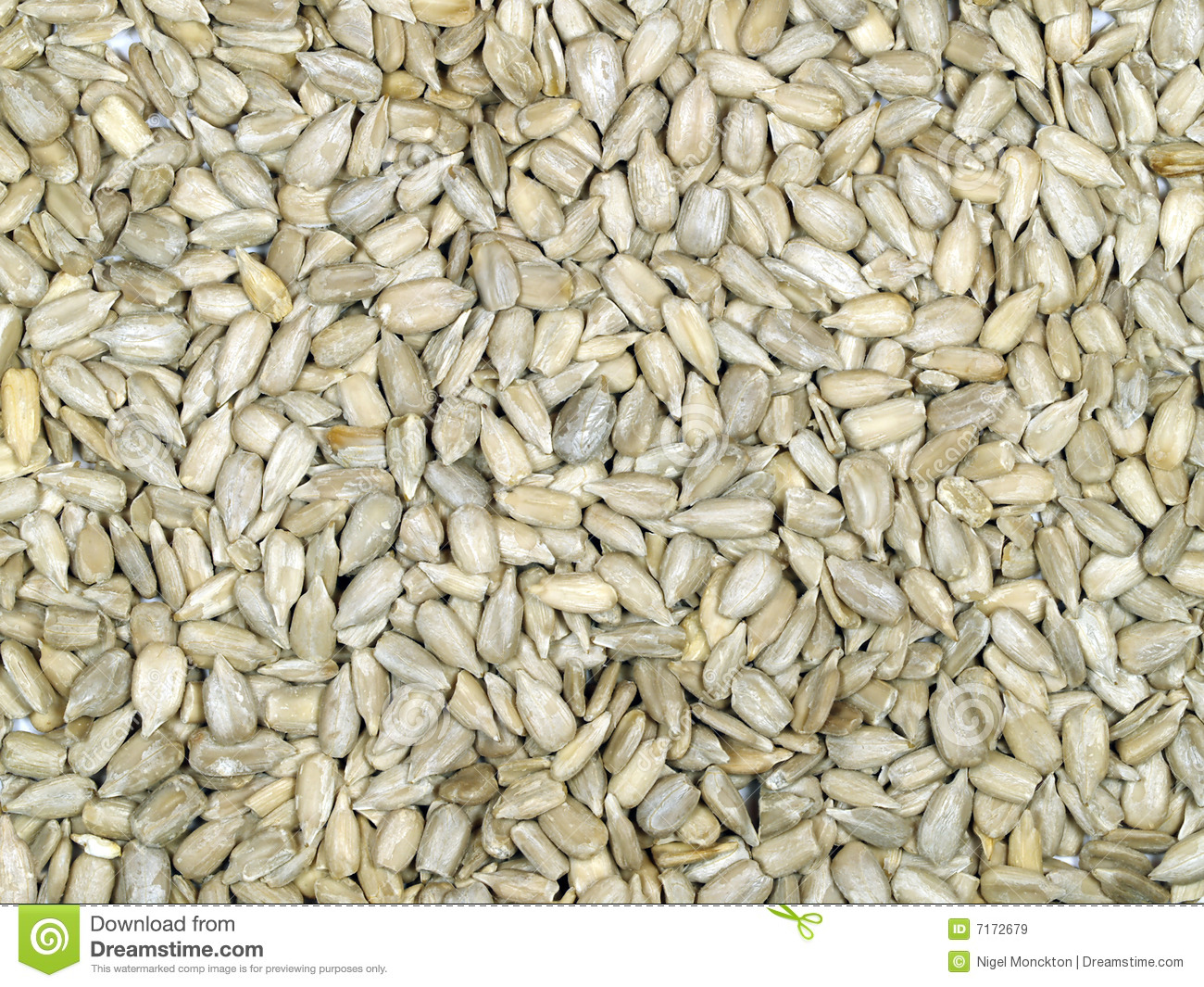 Sunflower seeds hulled