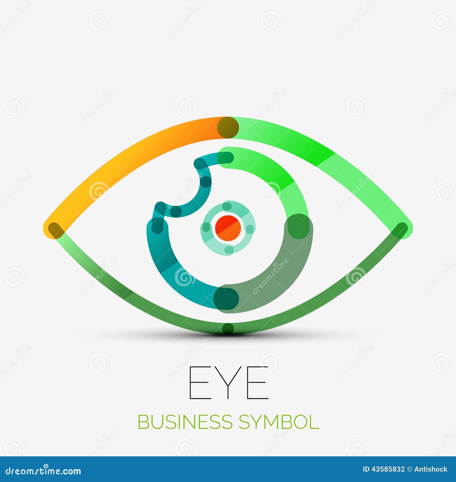 Humam Eye Company Logo, Business Concept Stock Vector ...