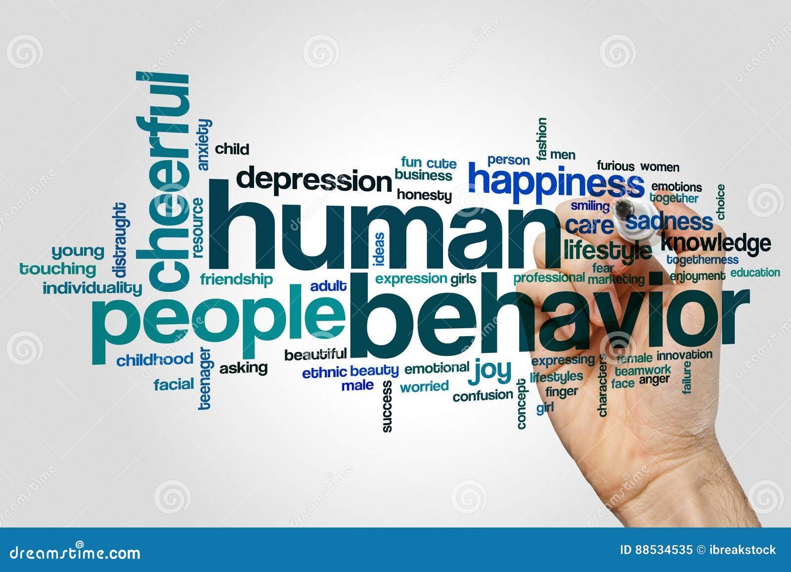 behavior human Adult