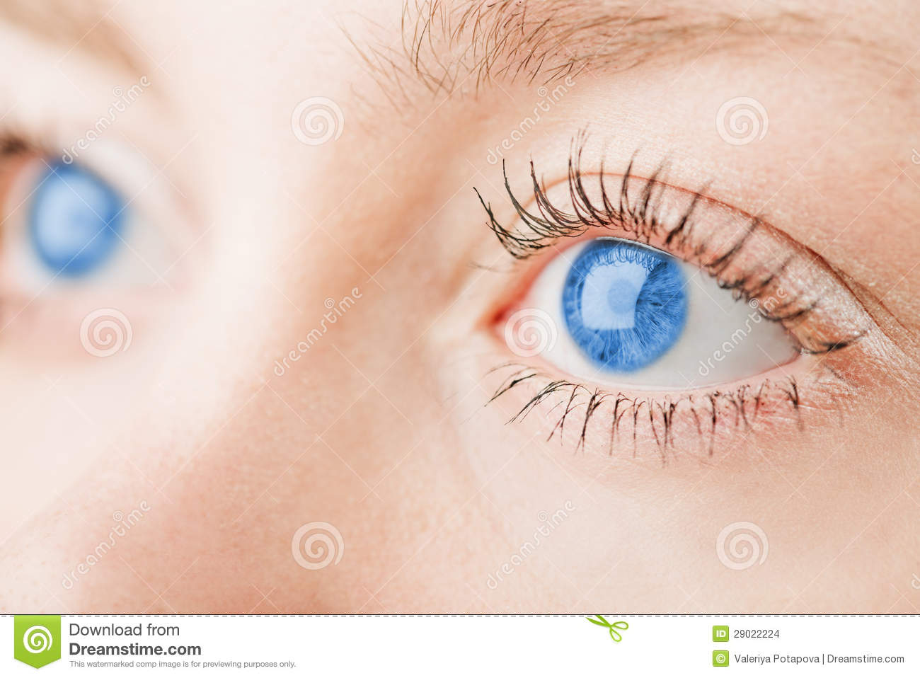 Natural Eye Look For Blue Eyes
