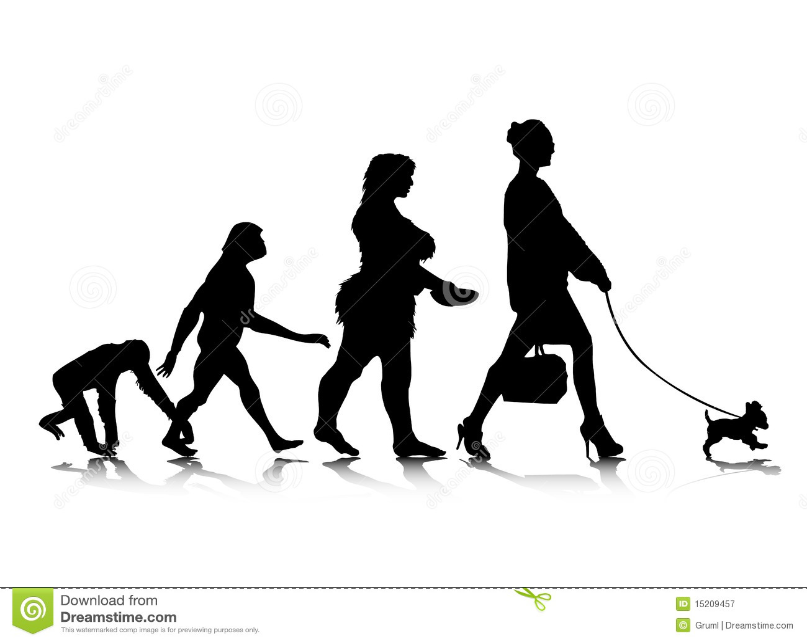 Human evolution female