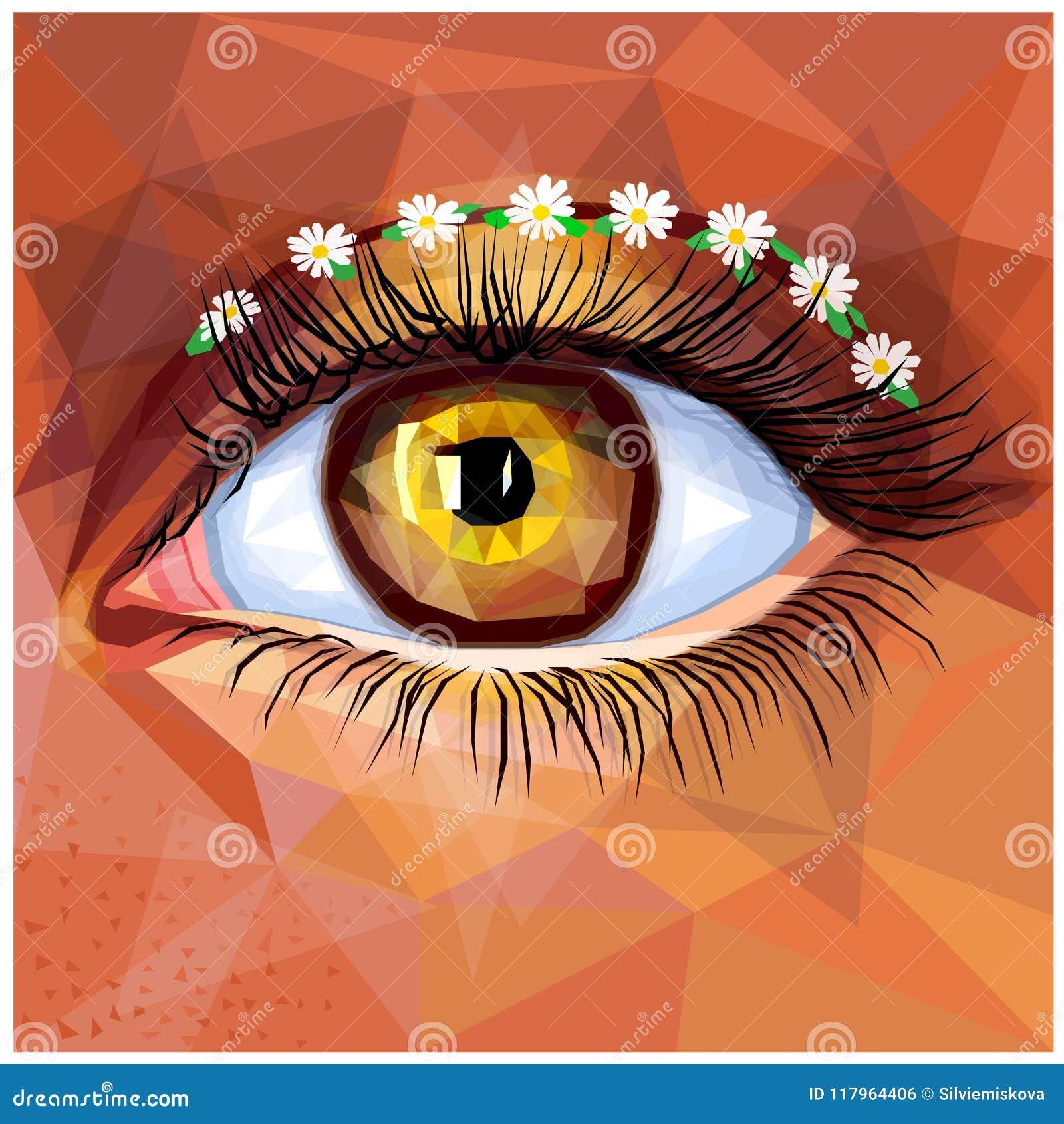 Look - Makeup eye unique art video