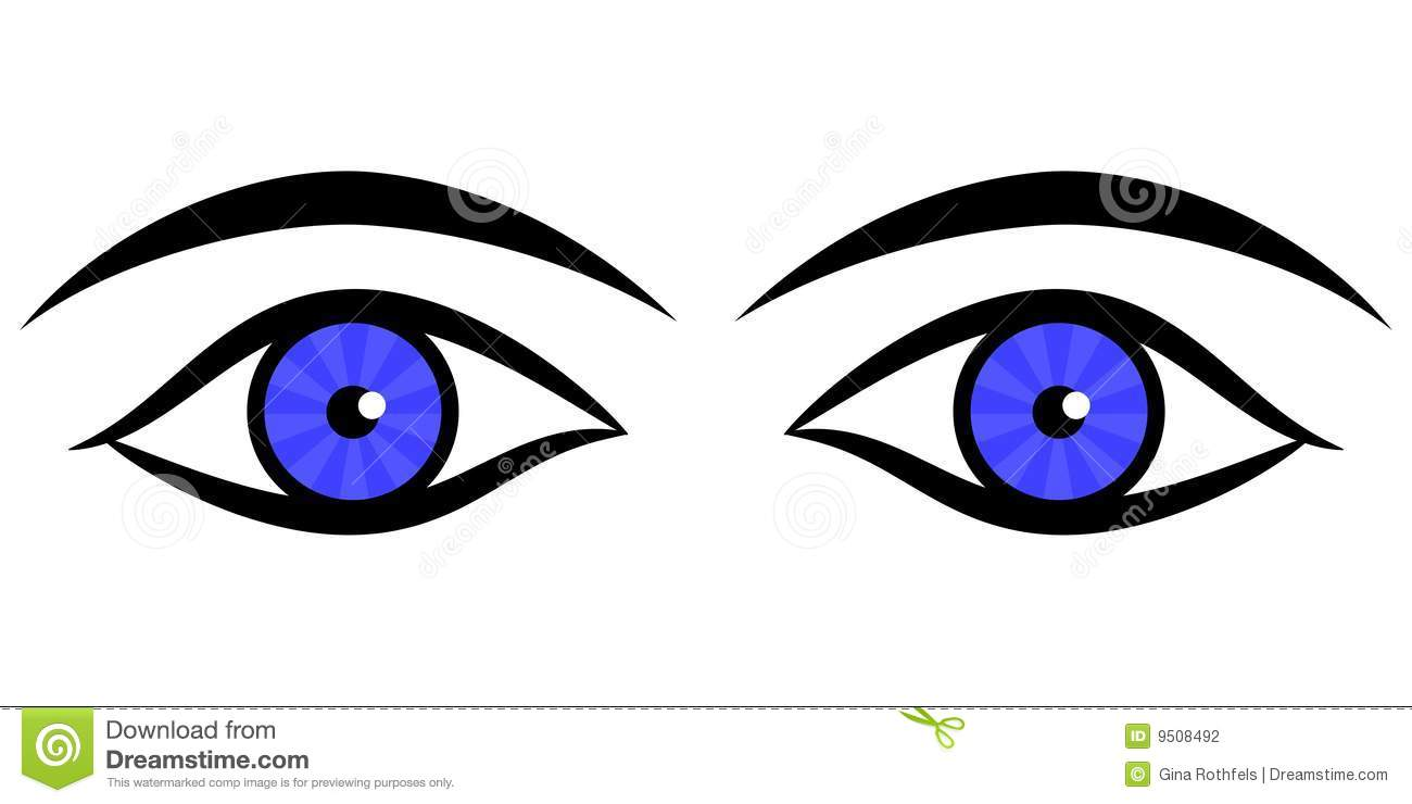 Human Eyes Stock Photography - Image: 9508492