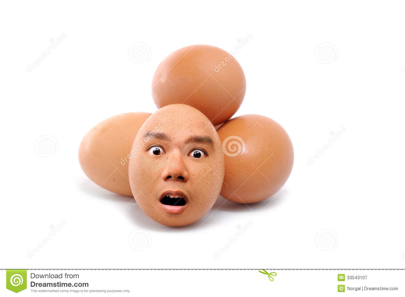 Human Face Egg Royalty Free Stock Photography - Image: 33543107