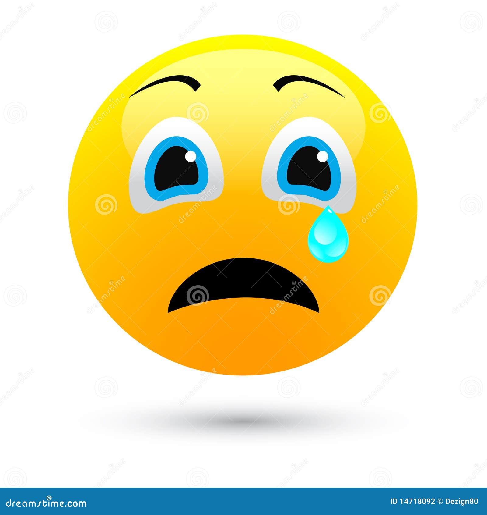 Sad: Human Face Sad Stock Vector. Illustration Of Sign, Human