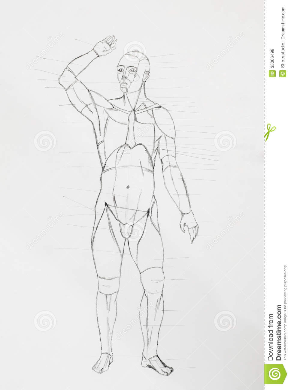 Pencil drawing man body stock images download 437 royalty free photos