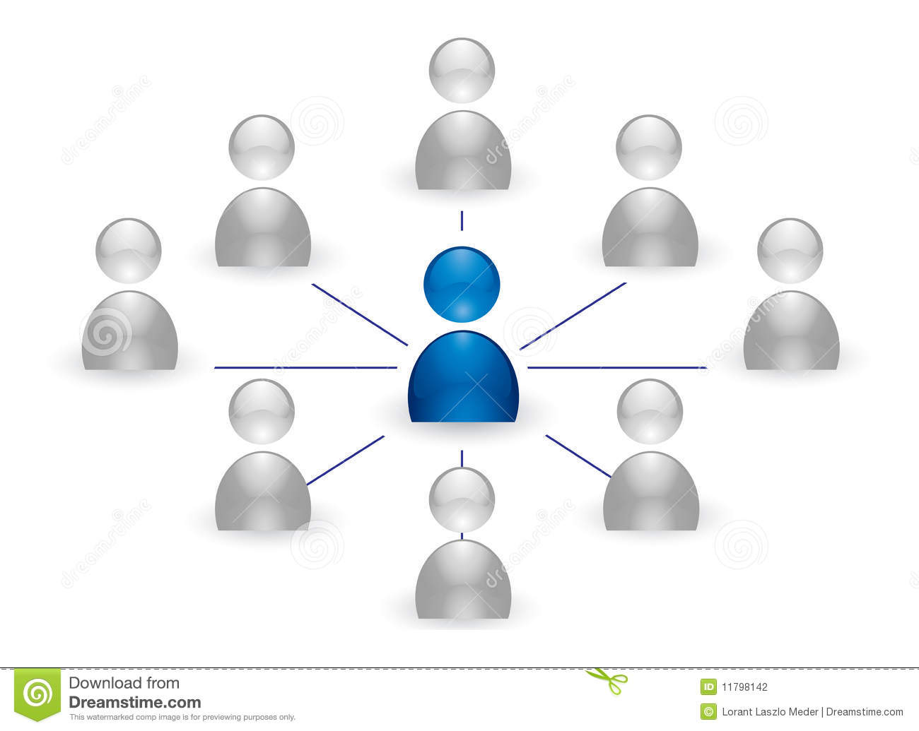Human Group Icon Stock Photography - Image: 11798142