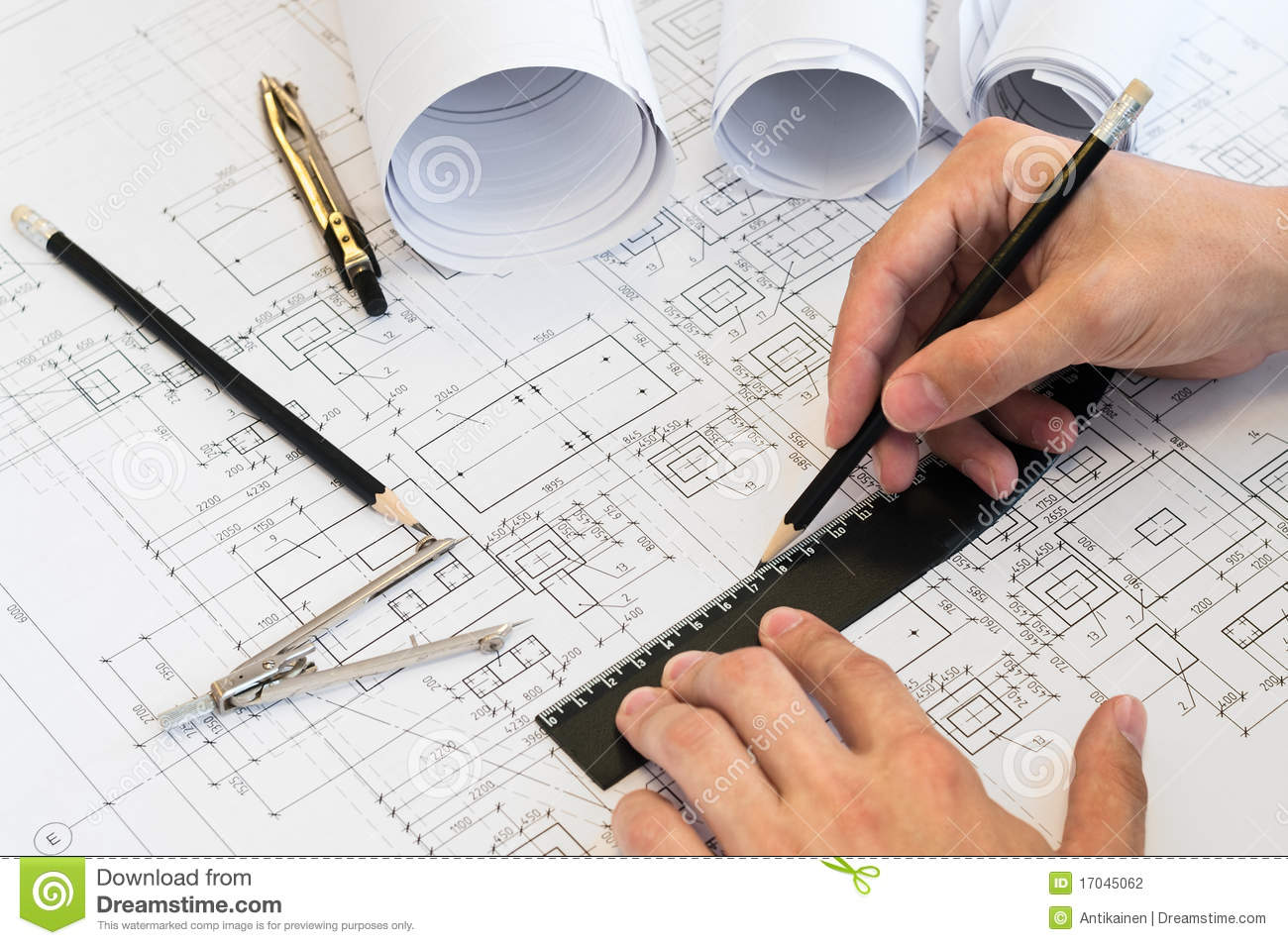 Drawing human ear royalty free stock photography image 25570937 - Human Hands Drawing A Project Stock Photography