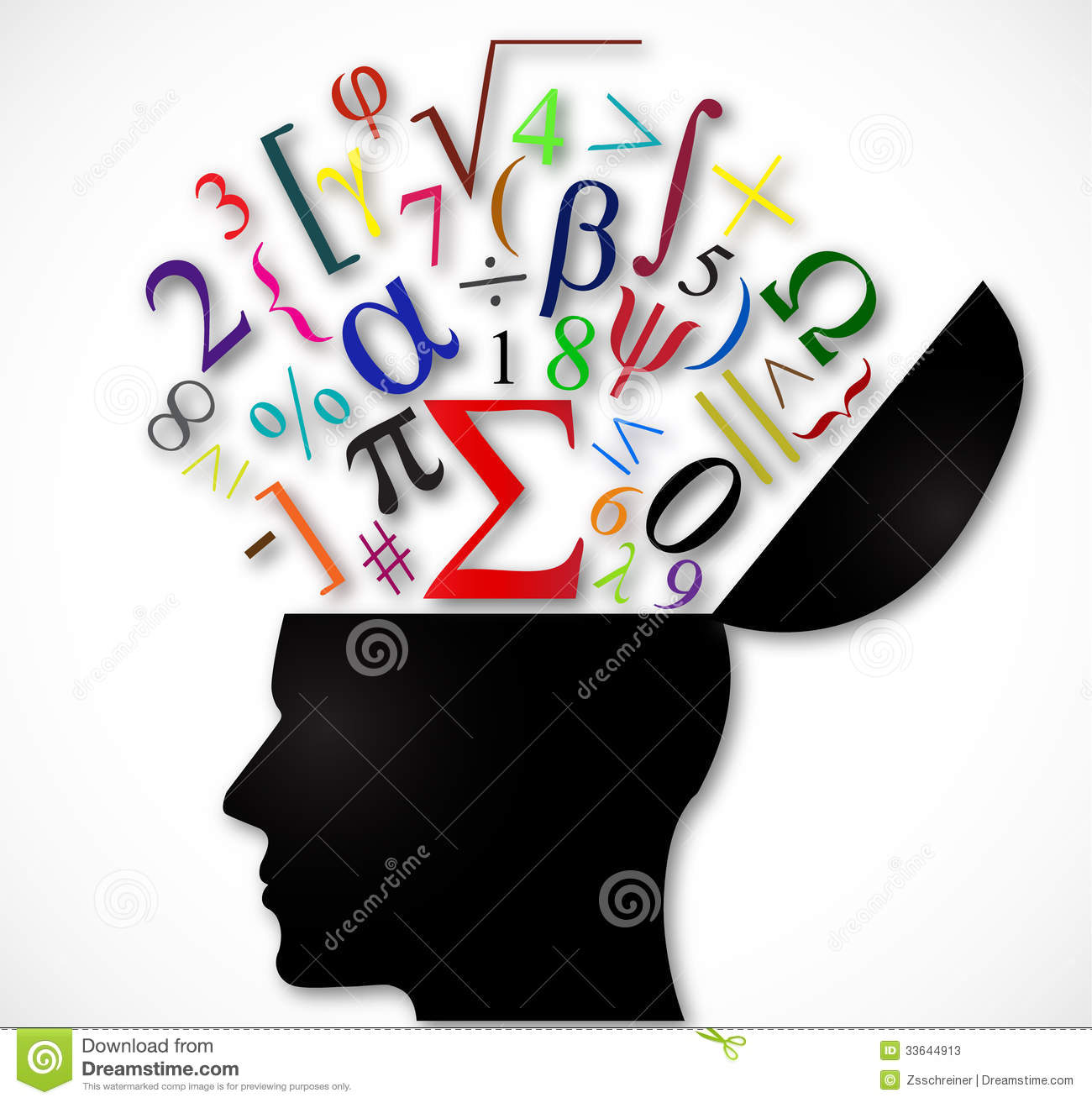 ... Open With Color Mathematical Symbols Stock Photos - Image: 33644913