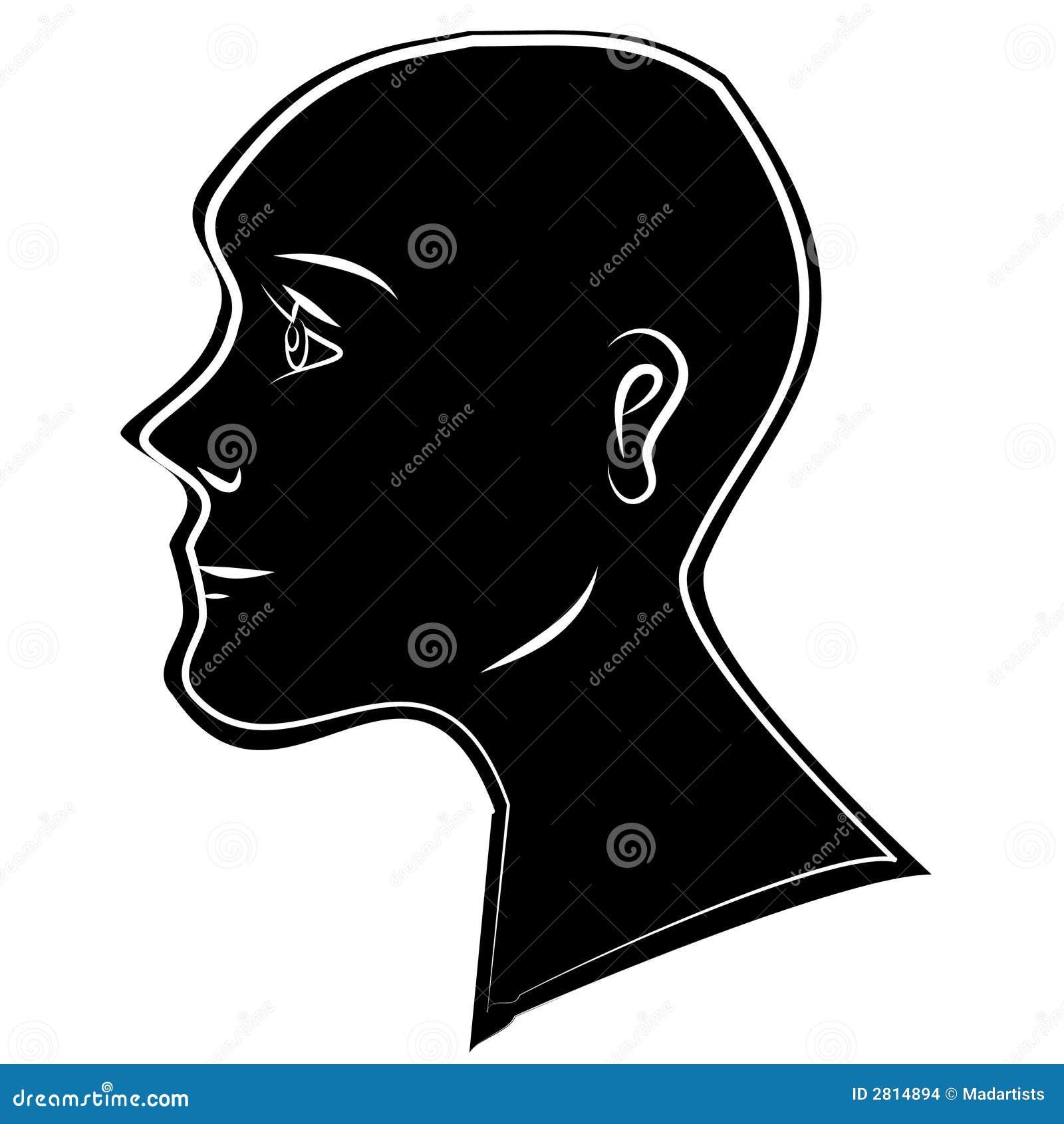 Human Head Silhouette ...