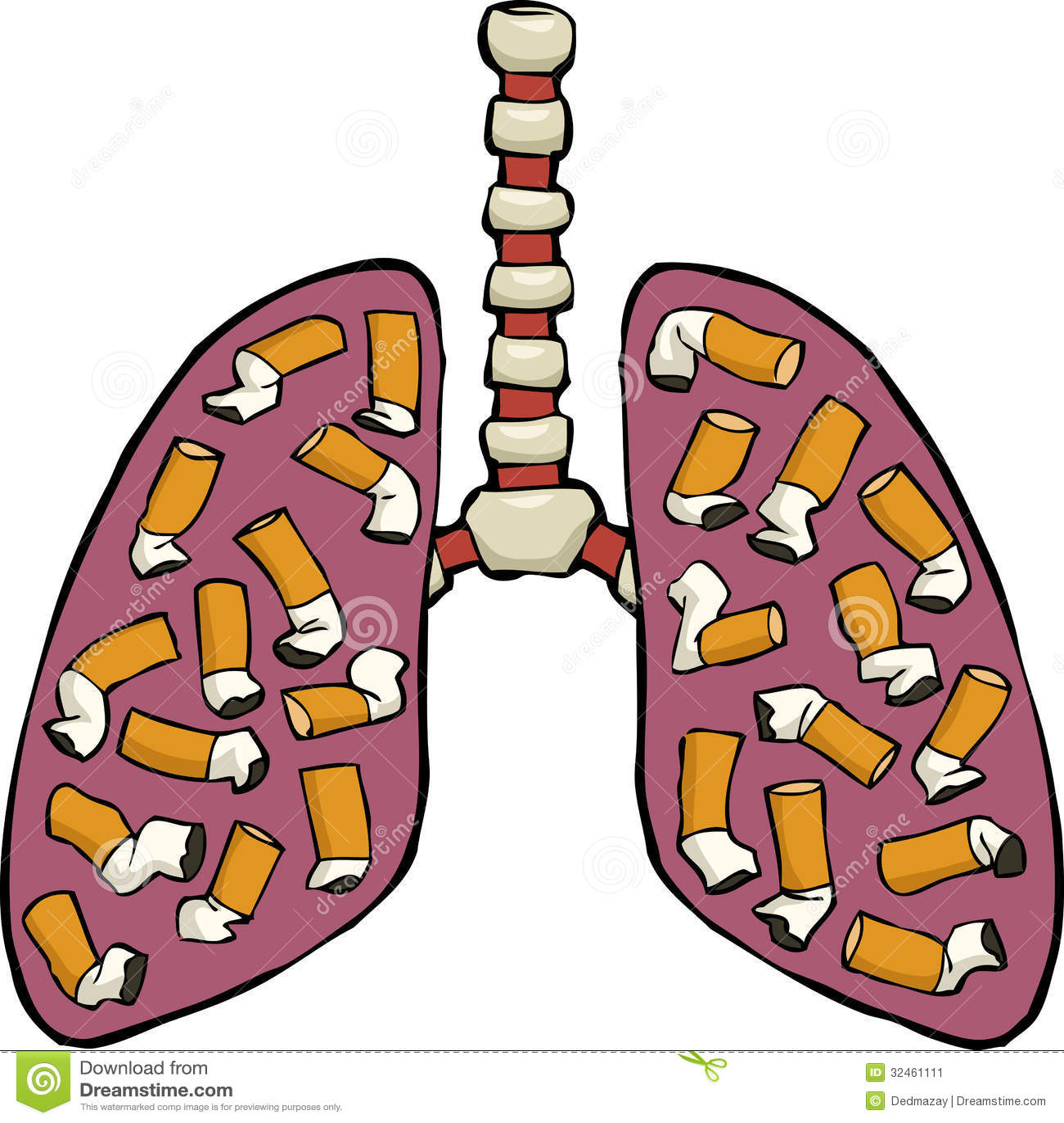 Human Lung Ashtray Stock Image - Image: 32461111