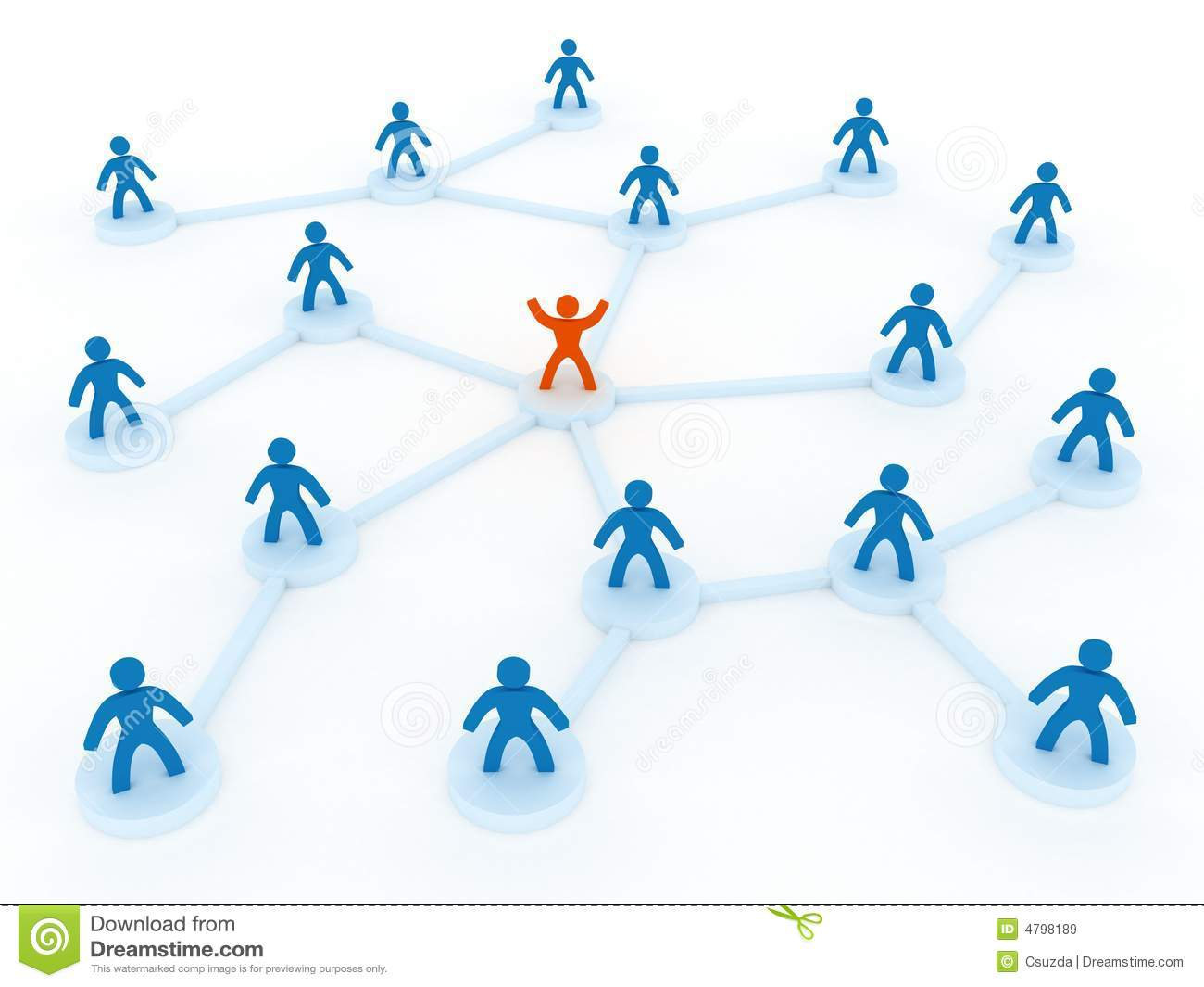 Human Network Royalty Free Stock Images - Image: 4798189