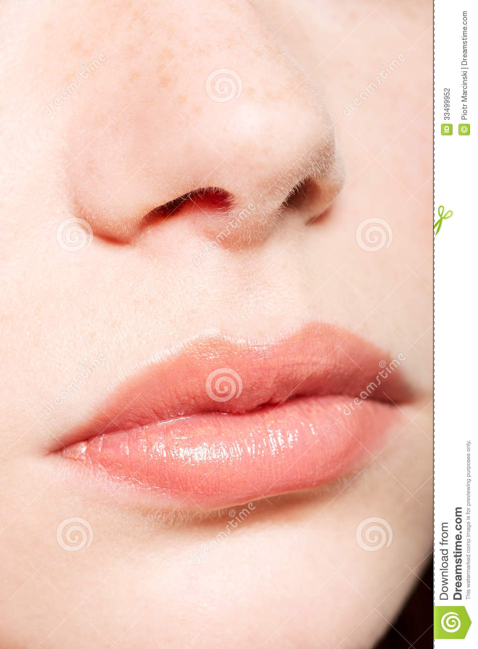 human nose and lips stock photo image of plastic part. Black Bedroom Furniture Sets. Home Design Ideas