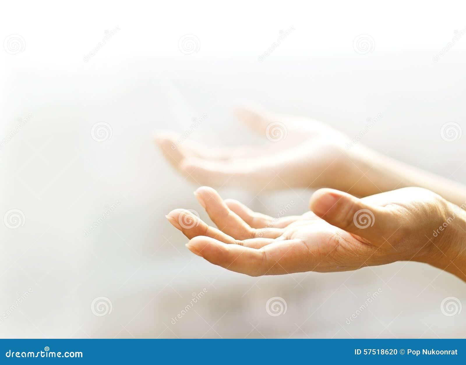 Human Open Empty Hands...