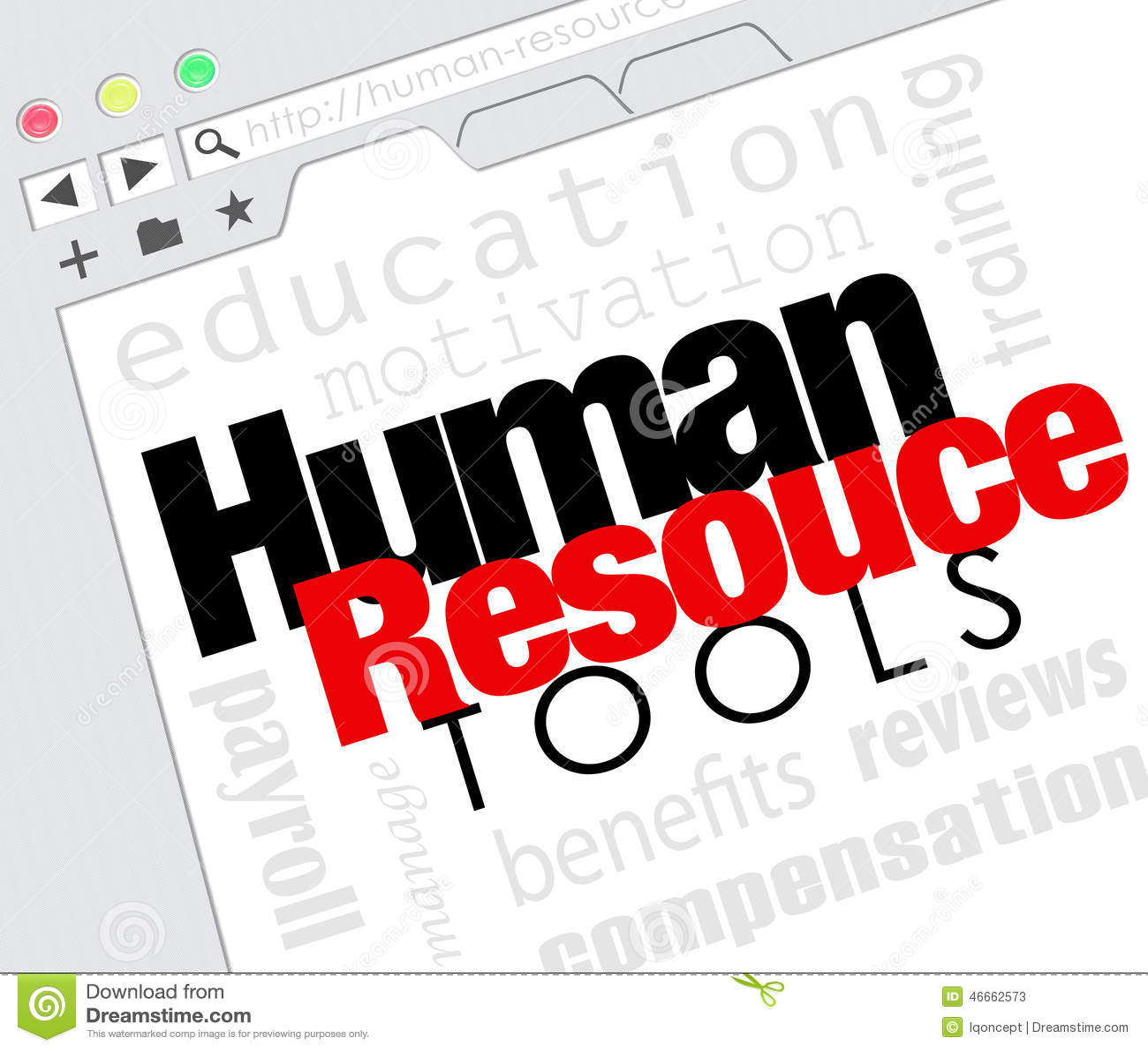 Human Resource Tools Online Internet Website Training Benefits M ...